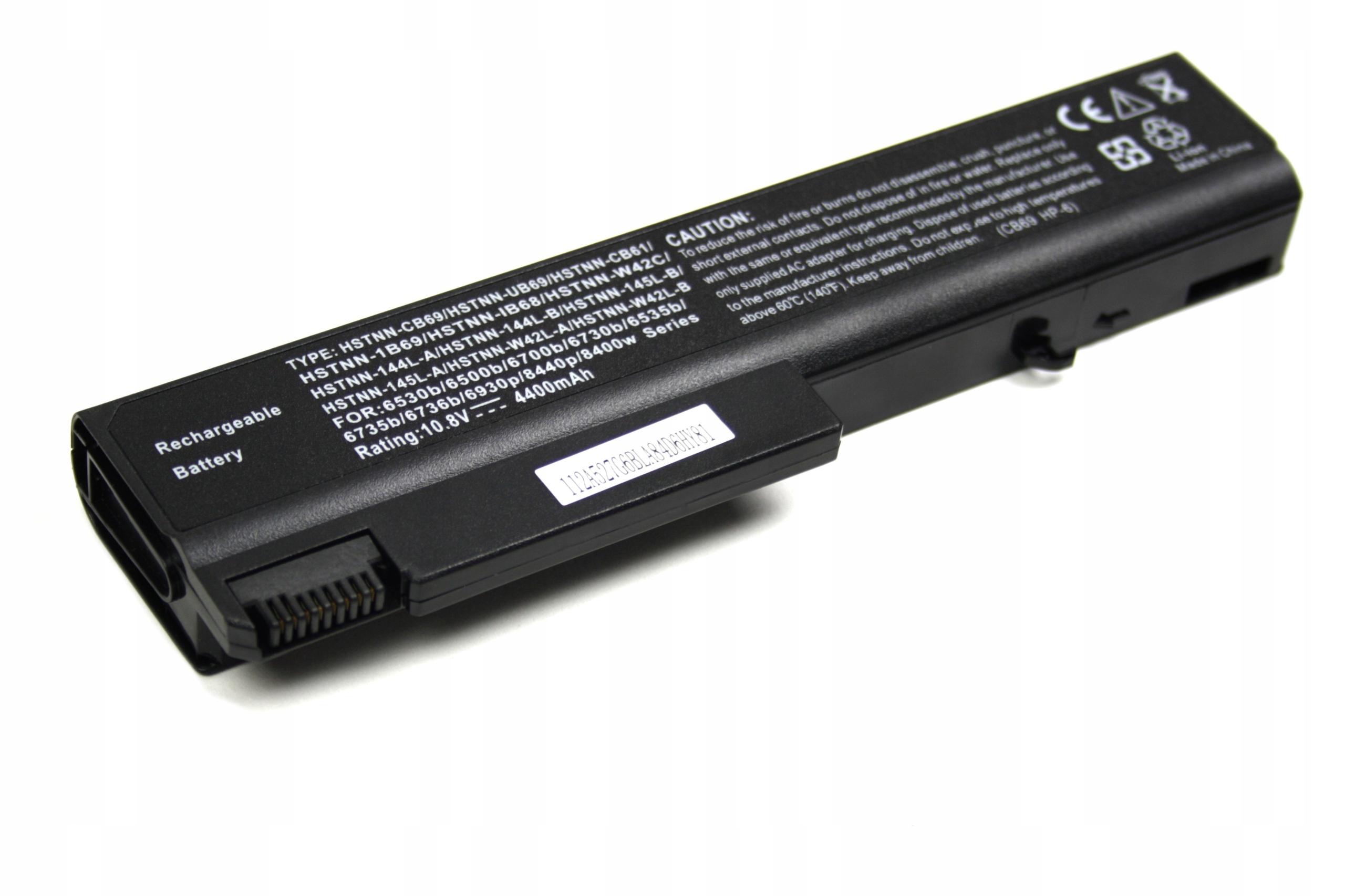 BATERIA AKUMULATOR HP ELITEBOOK 6930P 8440P PROBOOK 6550B - Baterie do laptopów