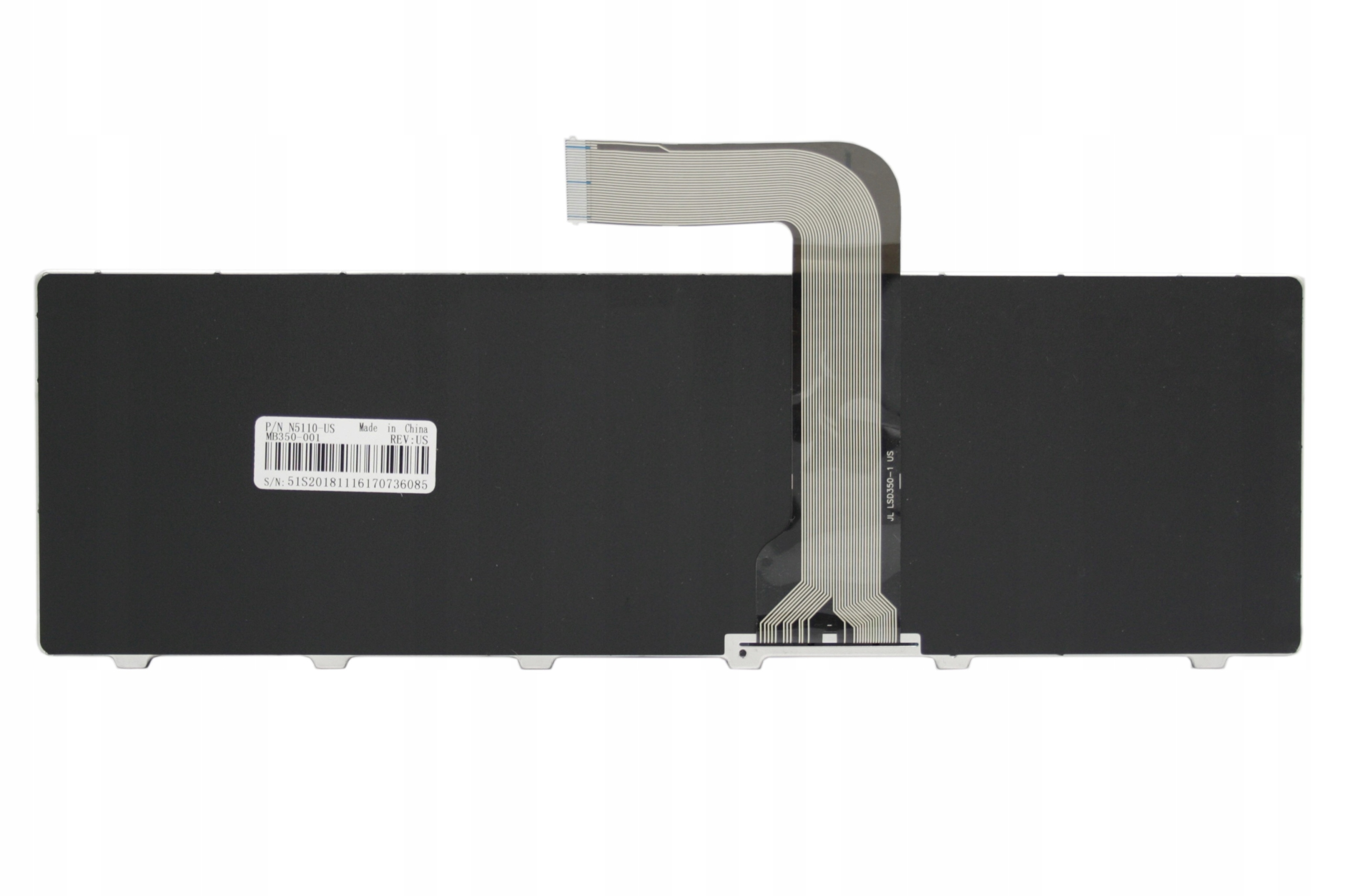 KLAWIATURA DELL INSPIRON 15R N5110 Q15R M5110 SE-5720 - Klawiatury do laptopów