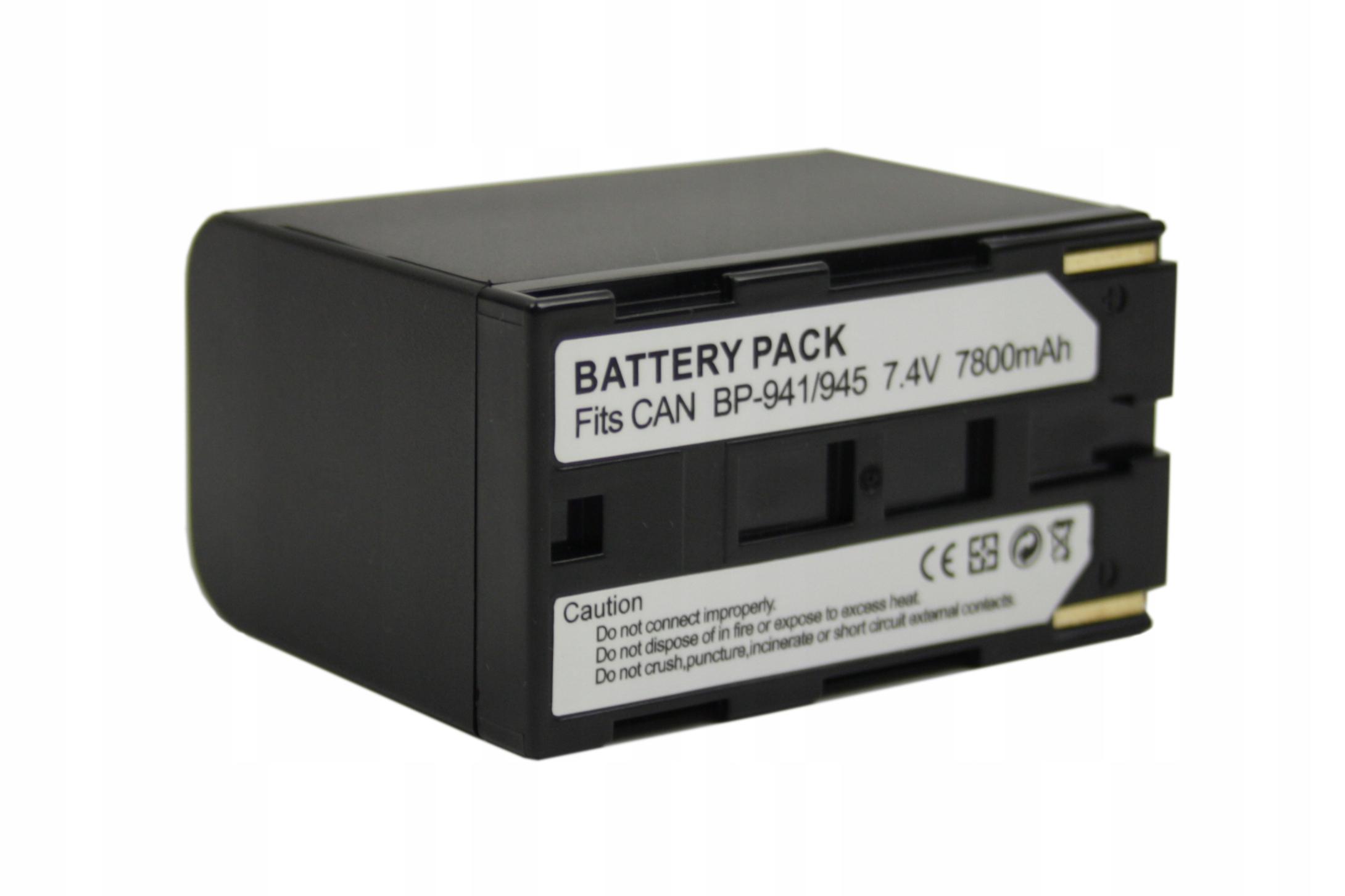BATERIA AKUMULATOR CANON BP-911 BP-914 BP-915 MV1 - Baterie do aparatów cyfrowych