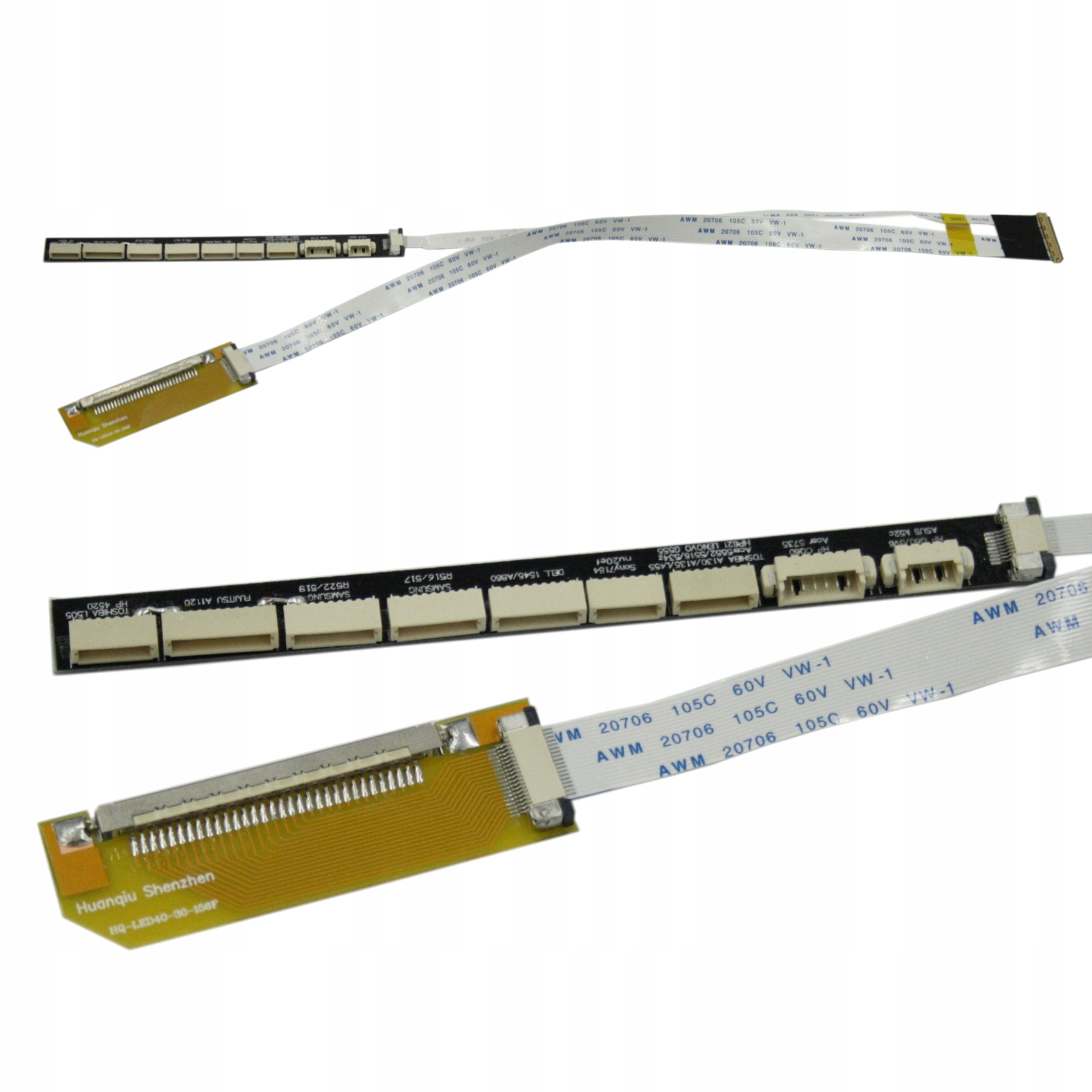 TAŚMA LCD MATRYCY SAMSUNG LTN156AT01-A01 LTN156AT01-B01 LTN156AT01-B03 LTN156A - Taśmy i inwertery