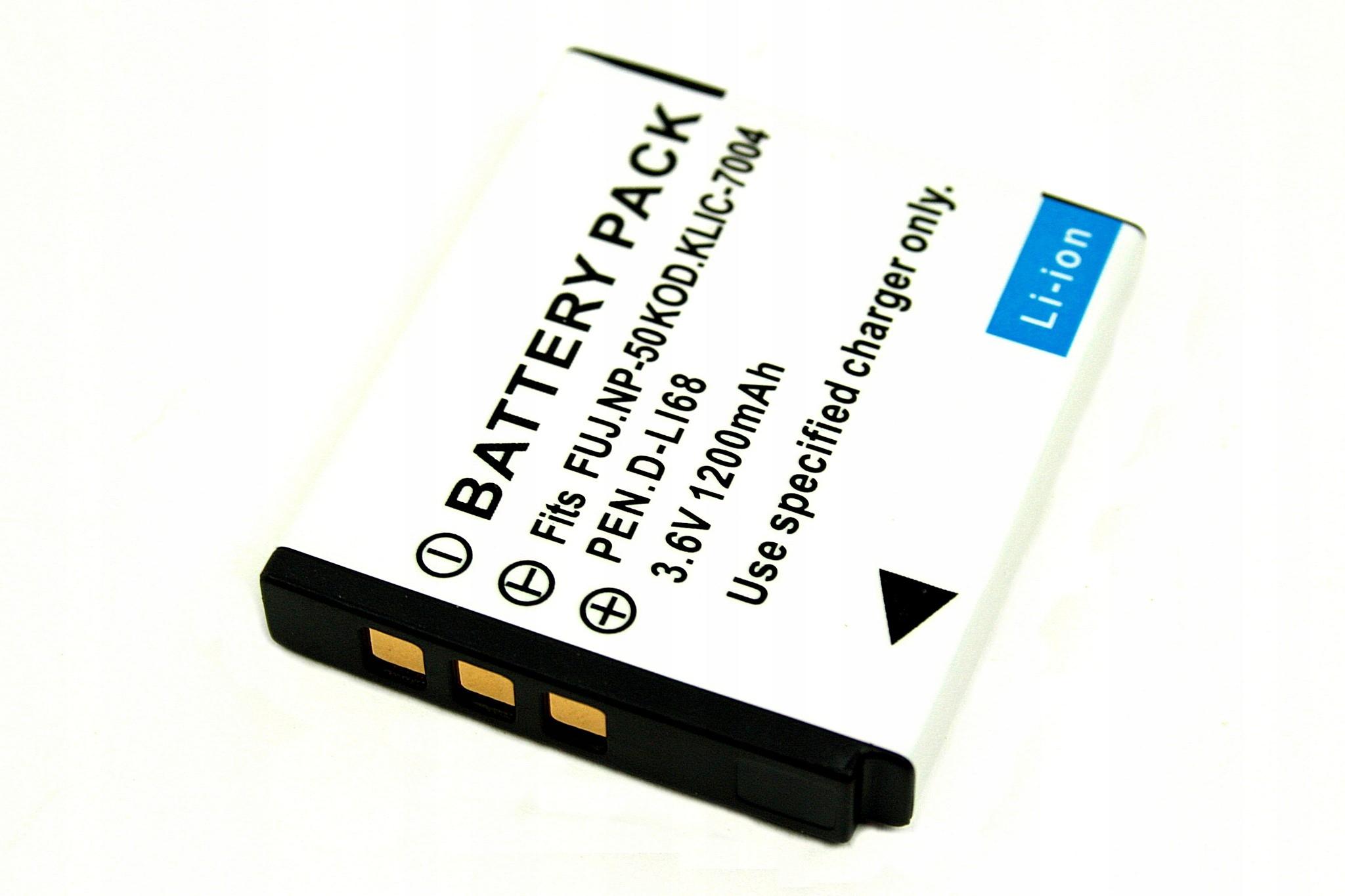 BATERIA AKUMULATOR FUJI NP-50A FINEPIX XP100 XP150 - Baterie do aparatów cyfrowych