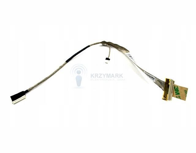 "TAŚMA LCD MATRYCY HP 500 510 520 530 DC02000DY00 WANS A0 093H, P/N: DC02000DY00 WANS A0 093I, 438537-001, 448334-00114,1"" LVDS R - Taśmy i inwertery"