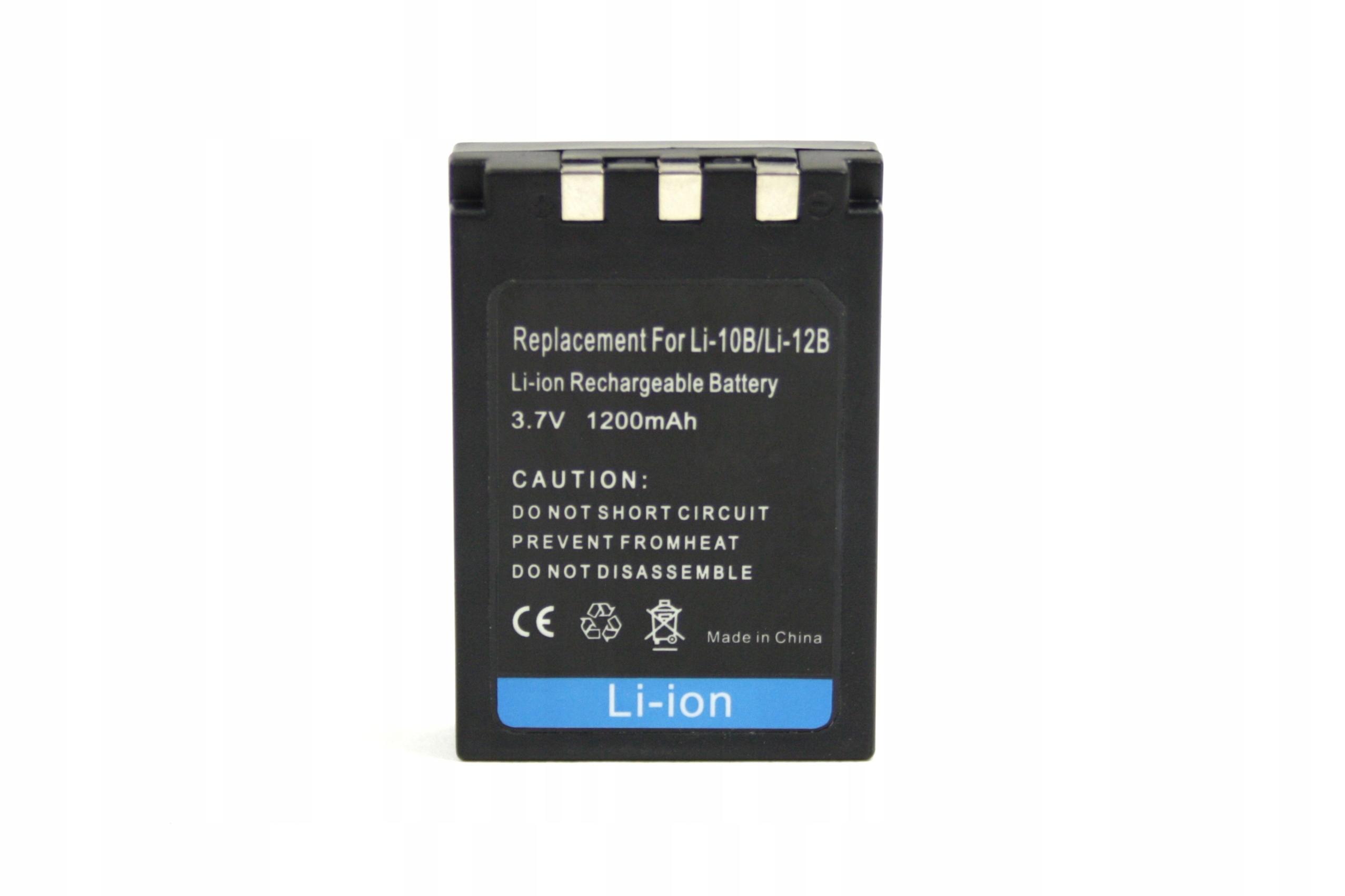 BATERIA AKUMULATOR OLYMPUS LI-10B C760 C770 C7000 C5000 FE200 - Baterie do aparatów cyfrowych