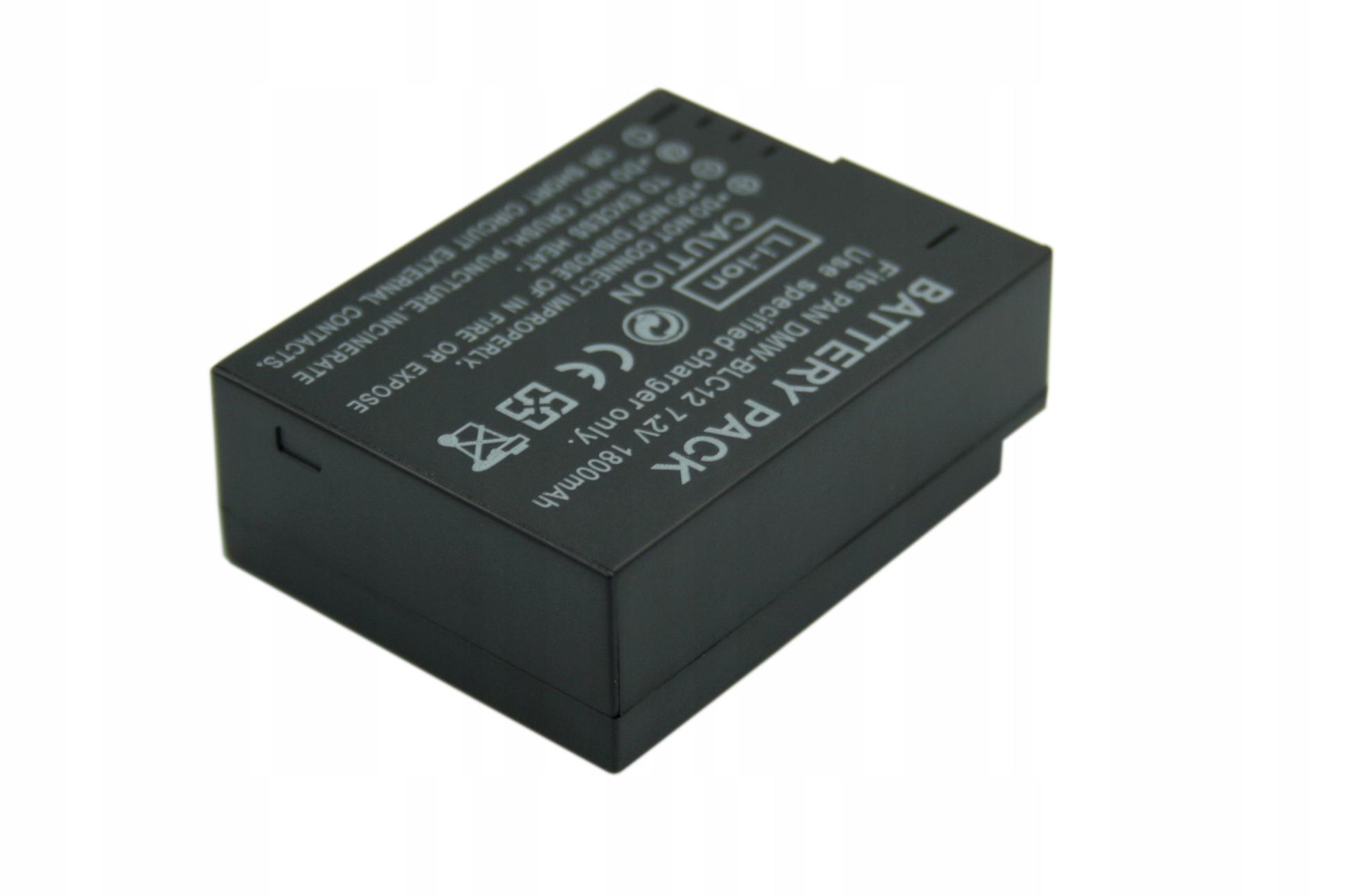 BATERIA AKUMULATOR PANASONIC LUMIX DMC-G5 DMC-G6 - Baterie do aparatów cyfrowych