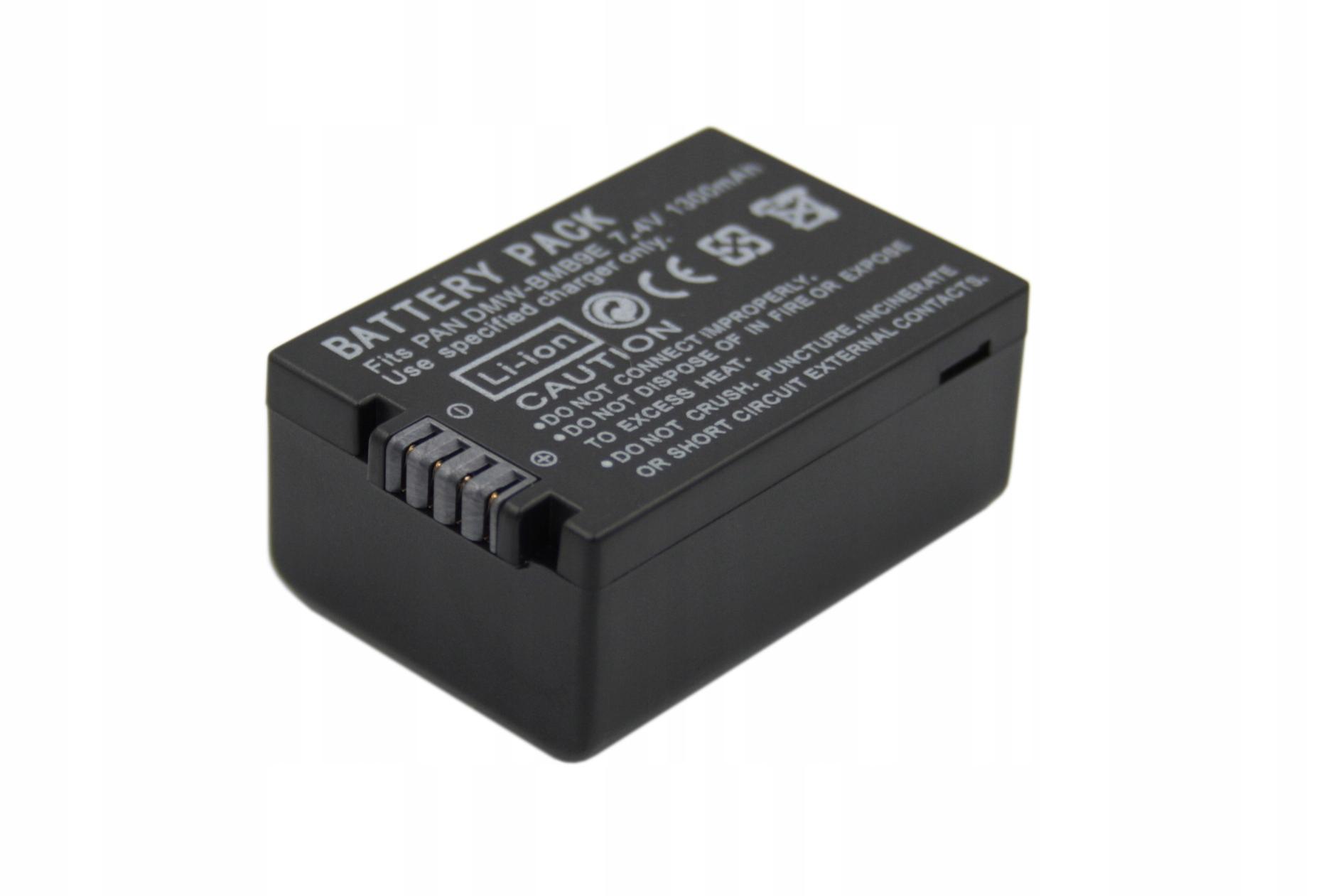 BATERIA AKUMULATOR PANASONIC DMW-BMB9E DMC-FZ72 DMC-FZ100 DMC-FZ150 - Baterie do aparatów cyfrowych