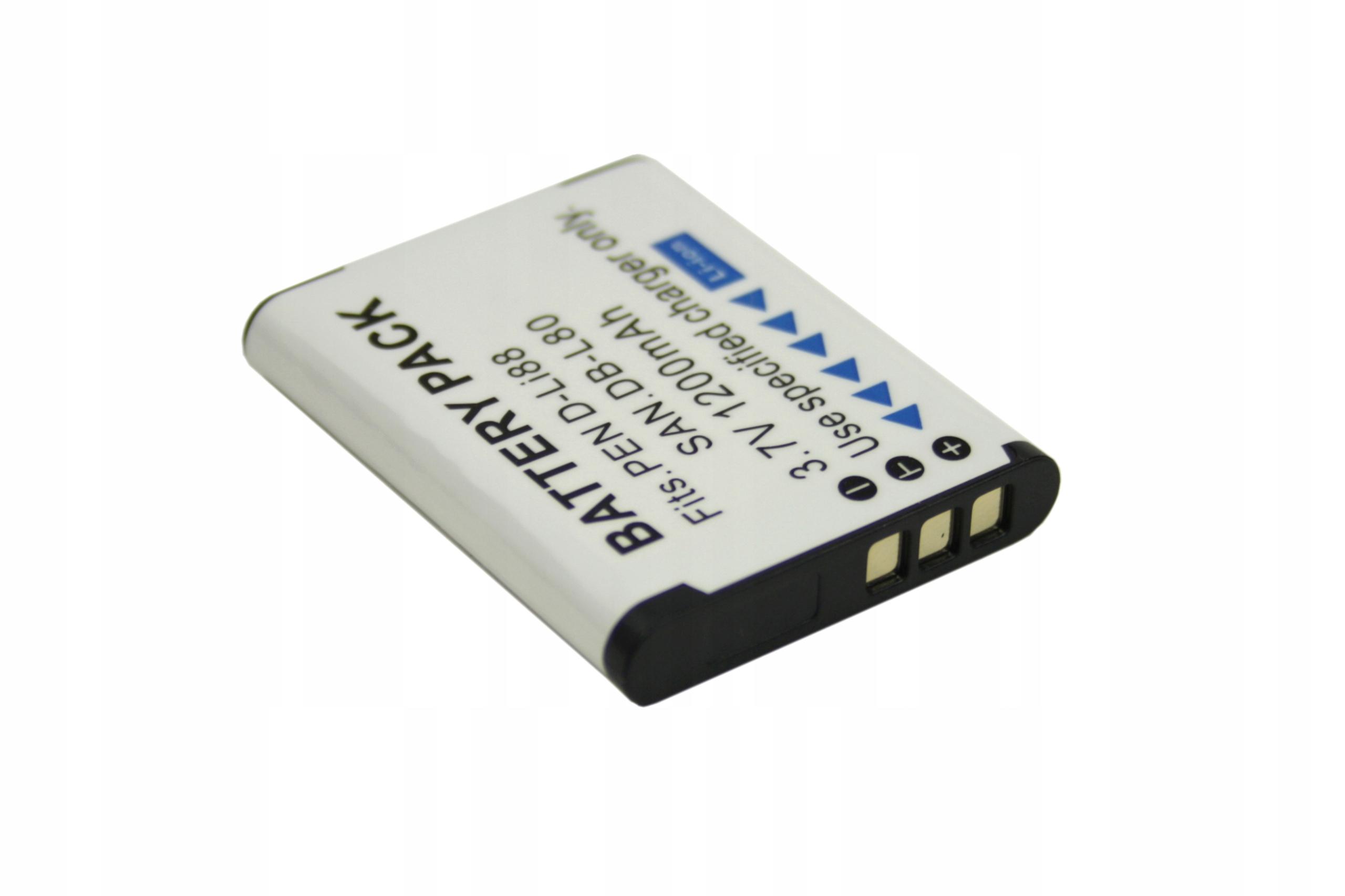 BATERIA TOSHIBA PX1686 CAMILEO SX900 SX500 BW10 PENTAX OPTIO P7 H90 W90 SANYO XACTI 1200MAH - Baterie do aparatów cyfrowych
