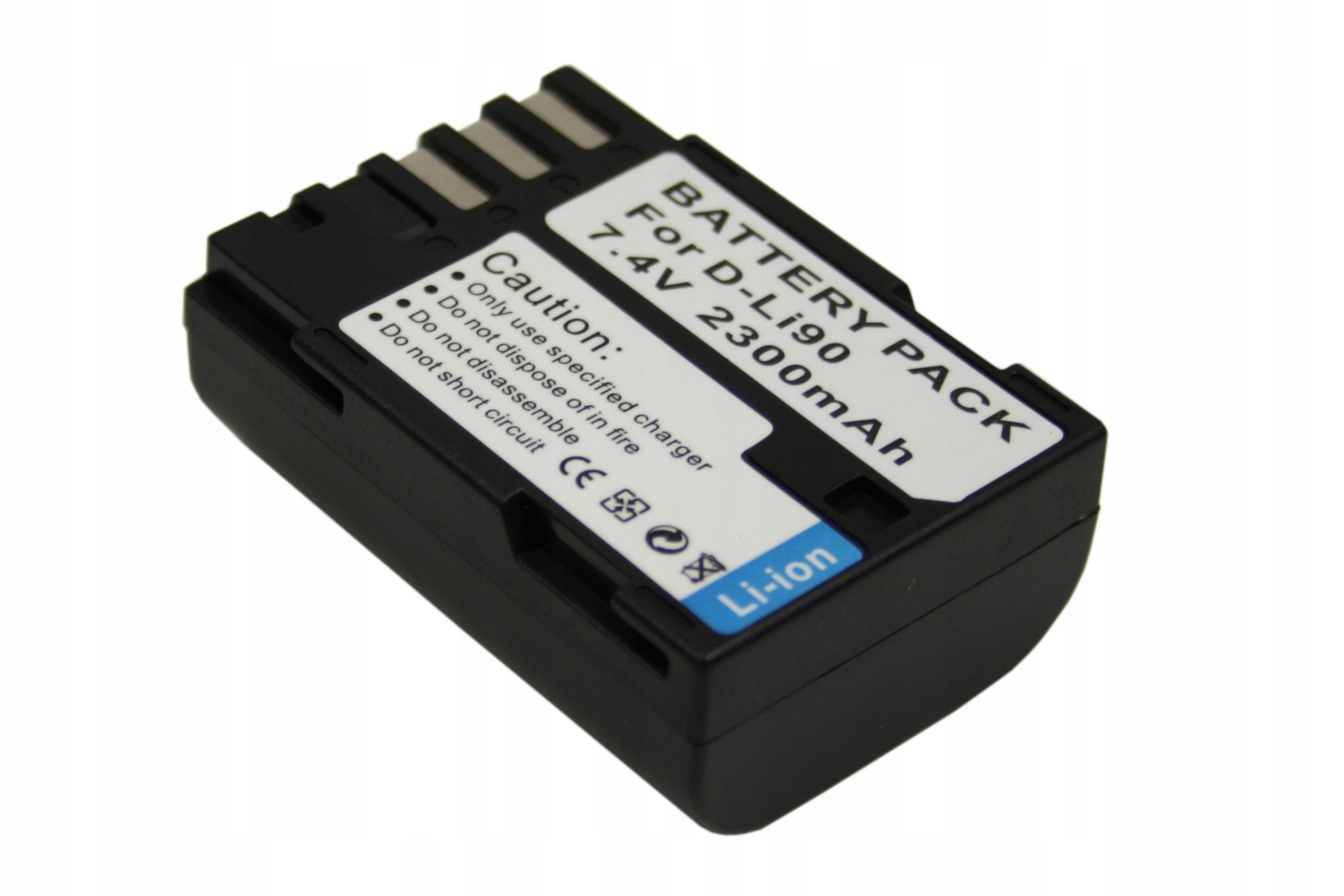 BATERIA AKUMULATOR PENTAX D-Li90 K-7 K7 K-5 K5 645 645D - Baterie do aparatów cyfrowych