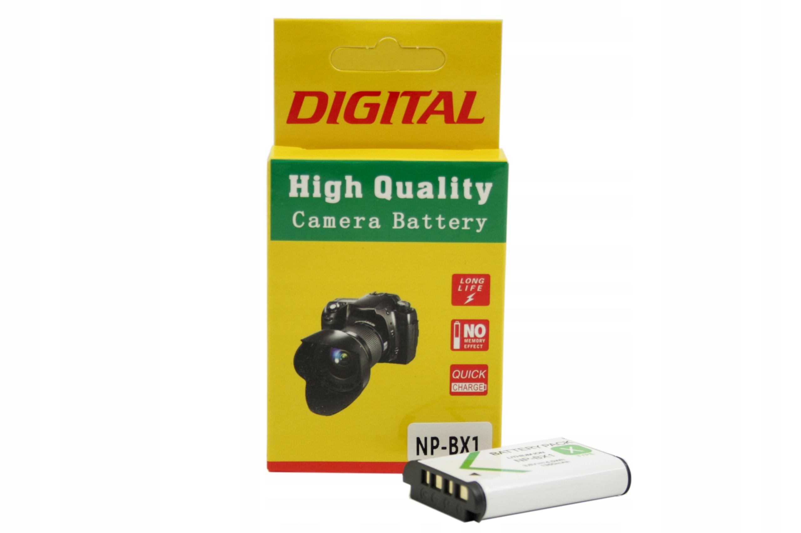 BATERIA AKUMULATOR SONY NP-BX1 DSC-RX100 HDR-AS10 - Baterie do aparatów cyfrowych