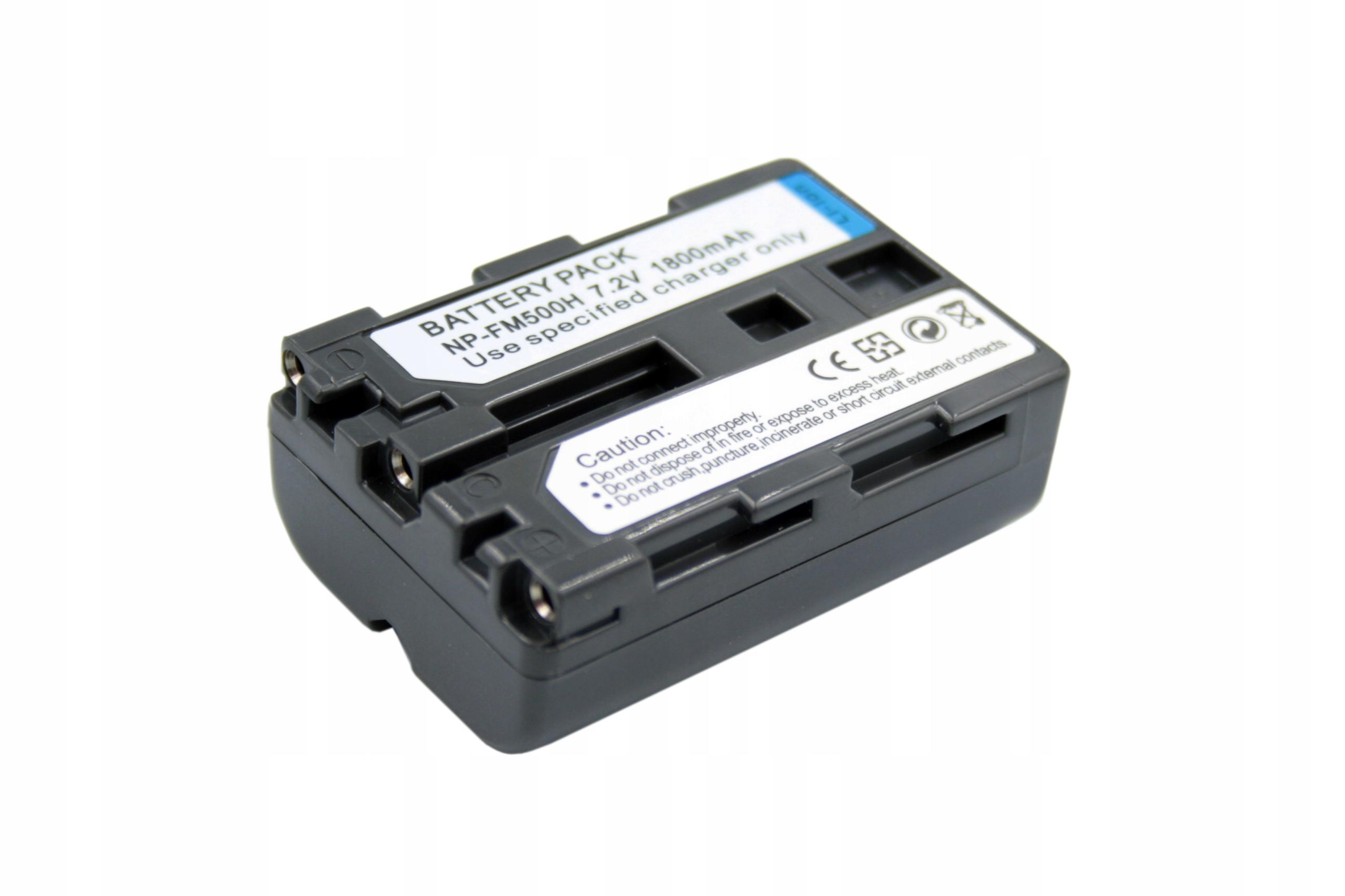 BATERIA AKUMULATOR SONY ALPHA DSLR-A100 DSLR-A300 A500 A700 - Baterie do aparatów cyfrowych