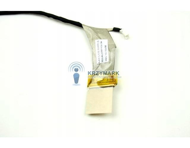 TAŚMA LCD MATRYCY HP PAVILION DV7-4000 DV7-5000 LX9 LCD CABLE492531-001, 605324-001, 605333-001, 609486-001, 609487-001, 609488- - Taśmy i inwertery