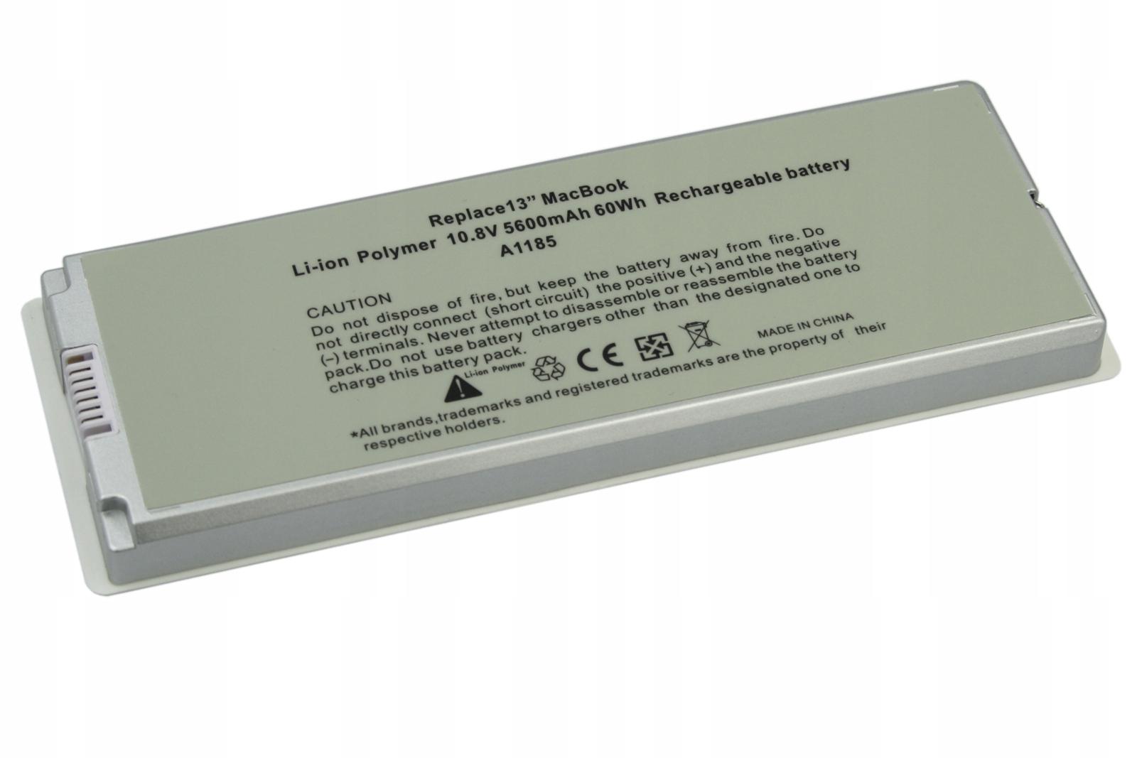 BATERIA AKUMULATOR APPLE MACBOOK 13 A1185 A1181 MA566 MA561 - Baterie do laptopów