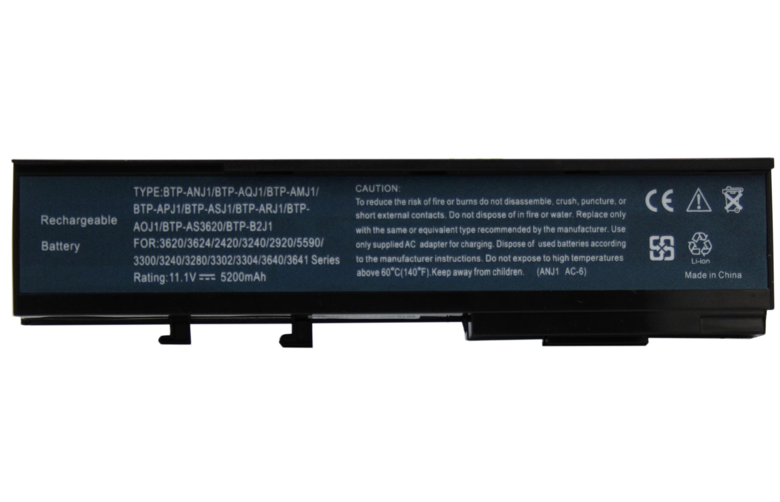 BATERIA AKUMULATOR ACER 2420 6292 6492 6493 6553 BTP-ARJ1 - Baterie do laptopów