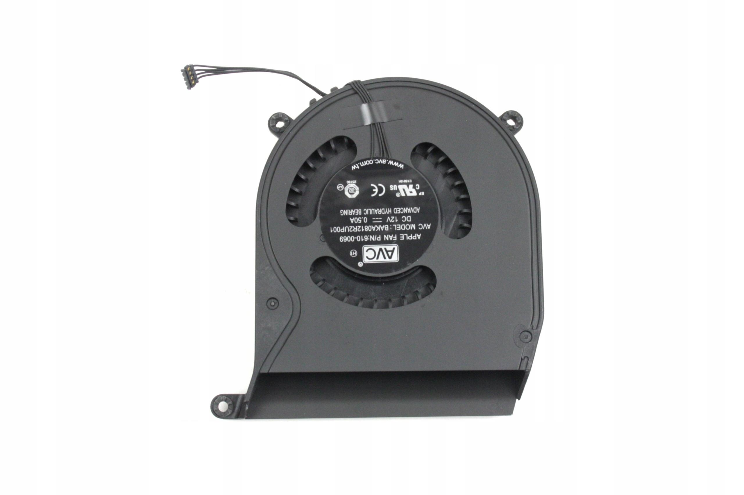 WENTYLATOR CHŁODZENIE WIATRAK APPLE MAC MINIi A1347 - Wentylatory i radiatory