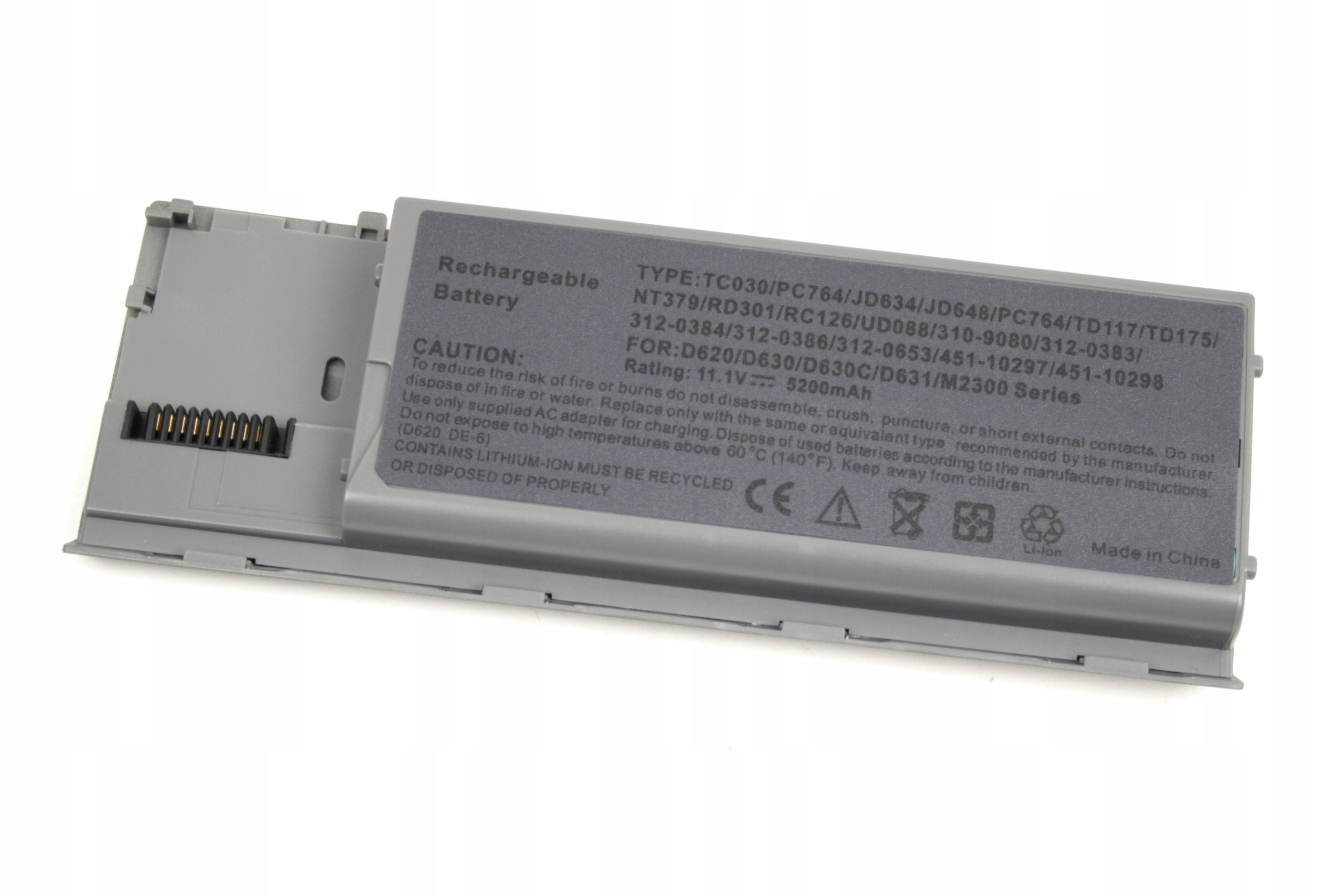 BATERIA DO LAPTOPA DELL LATITUDE D620 D630 D630N AKUMULATOR - Baterie do laptopów