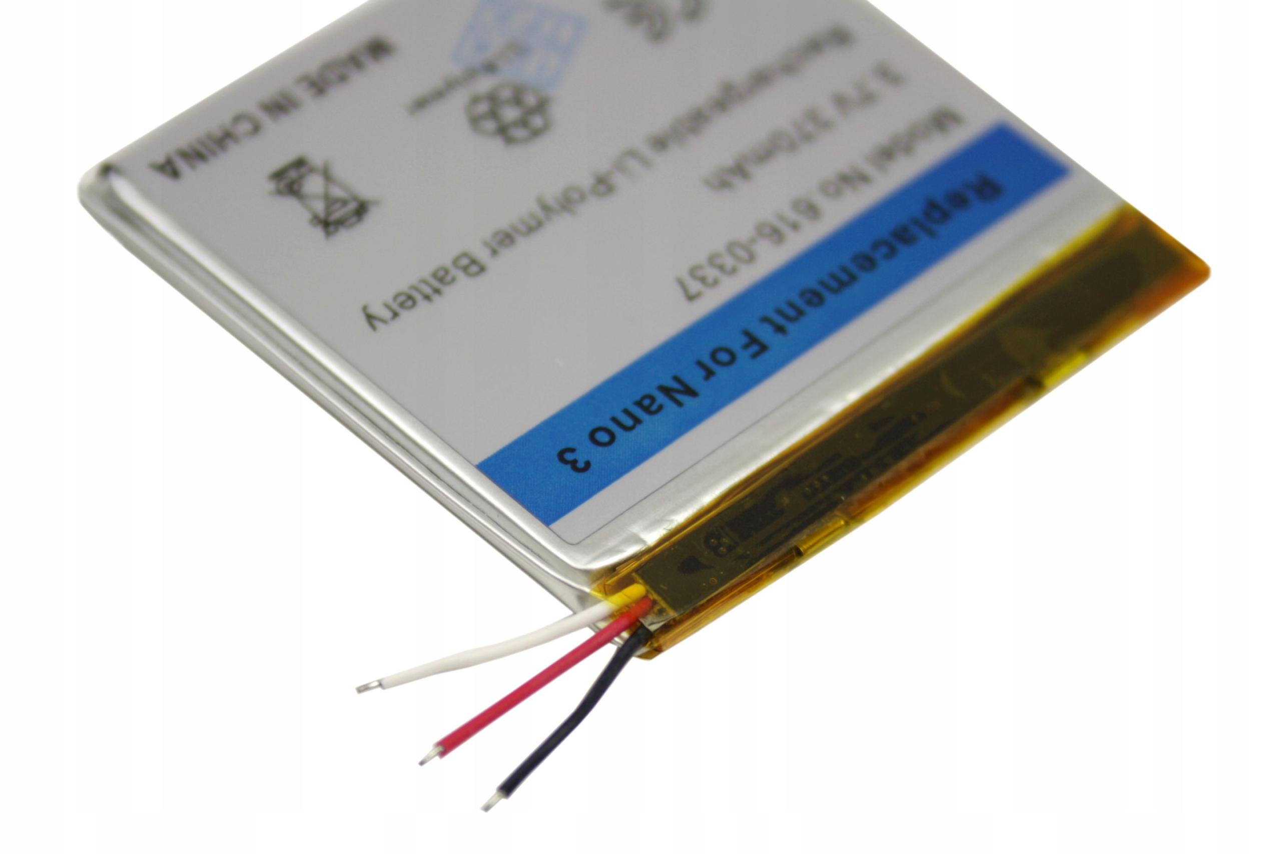 BATERIA AKUMULATOR APPLE IPOD NANO 3 3G 3GEN - Części i akcesoria do iPodów