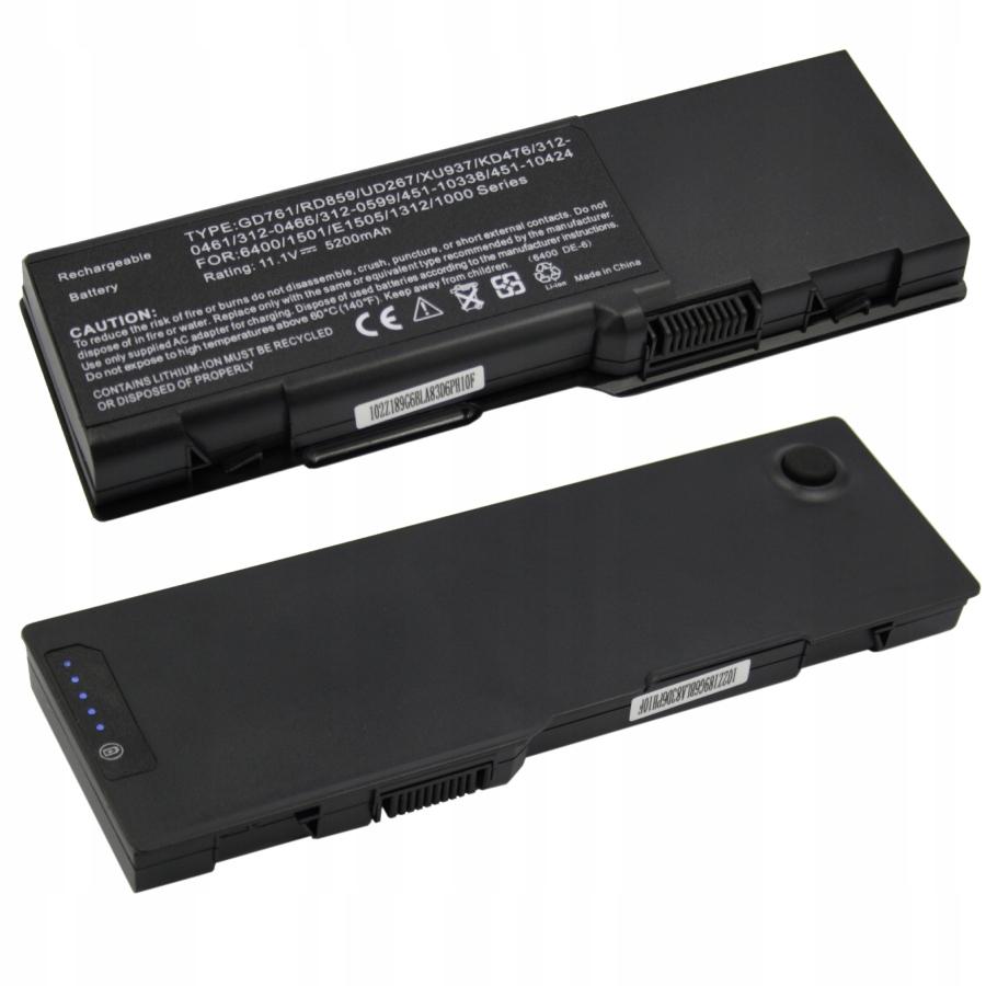 BATERIA AKUMULATOR DELL INSPIRON 1501 6400 E1505 131L GD761 - Baterie do laptopów