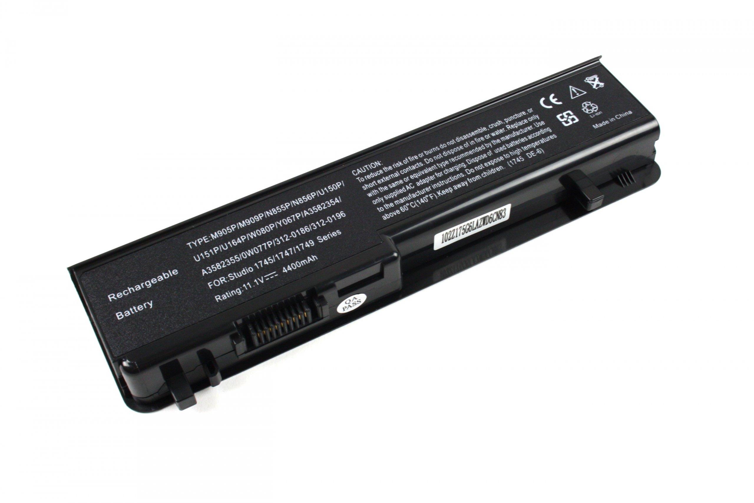 BATERIA AKUMULATOR DELL STUDIO 17 1745 1747 1749 U150P U164P - Baterie do laptopów