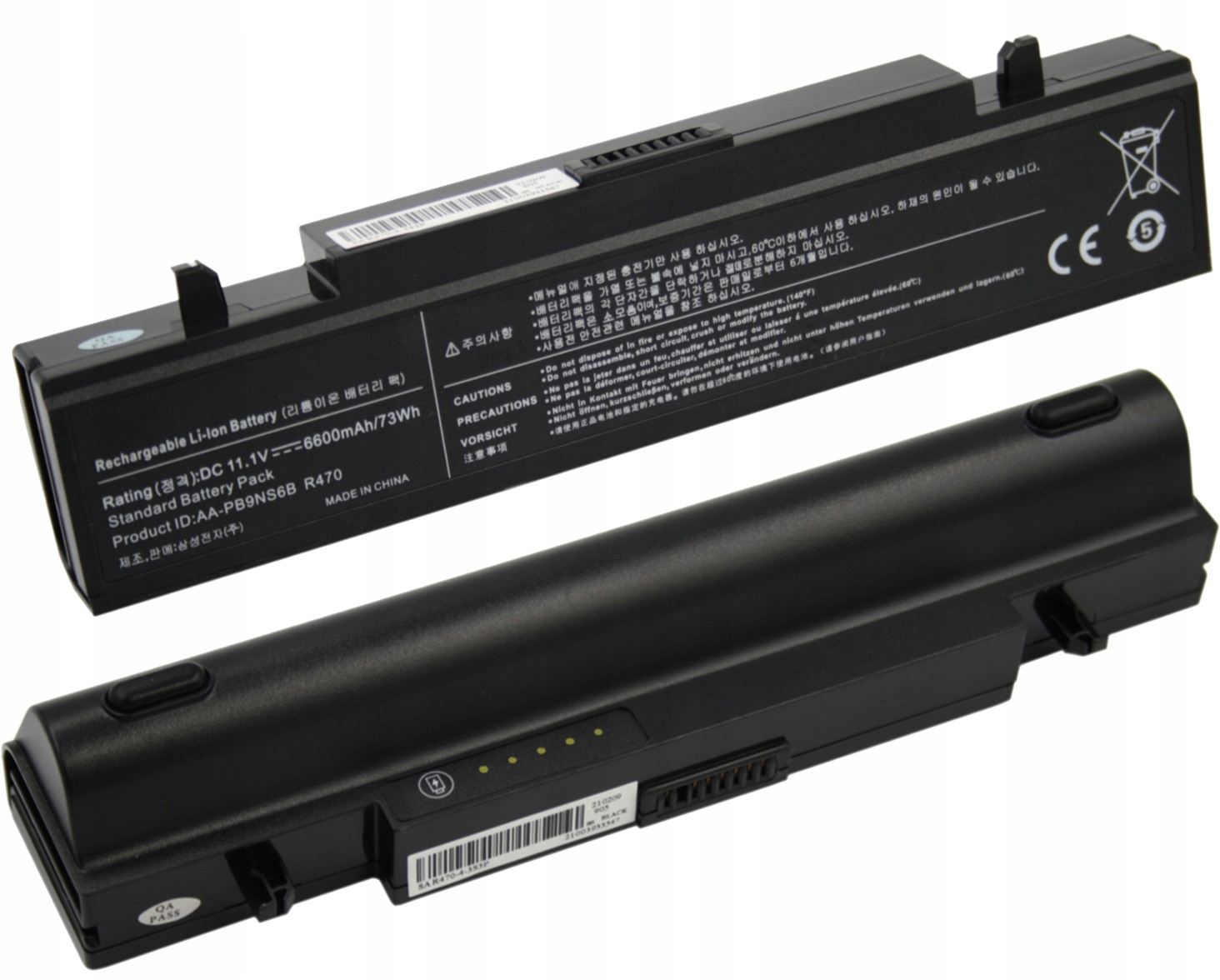 BATERIA AKUMULATOR SAMSUNG NP-R522 R530 R540 R580 AA-PB9NS6B - Baterie do laptopów