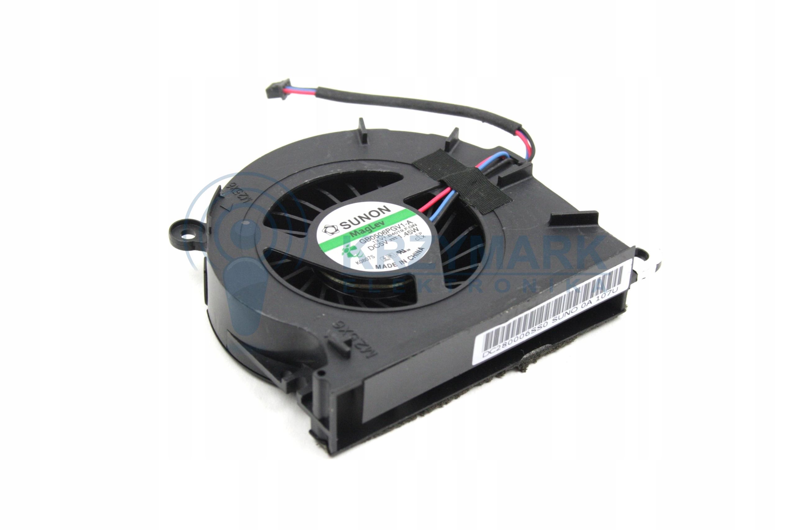 WENTYLATOR CHŁODZENIE WIATRAK HP PROBOOK 6545B 6550B 6555B - Wentylatory i radiatory