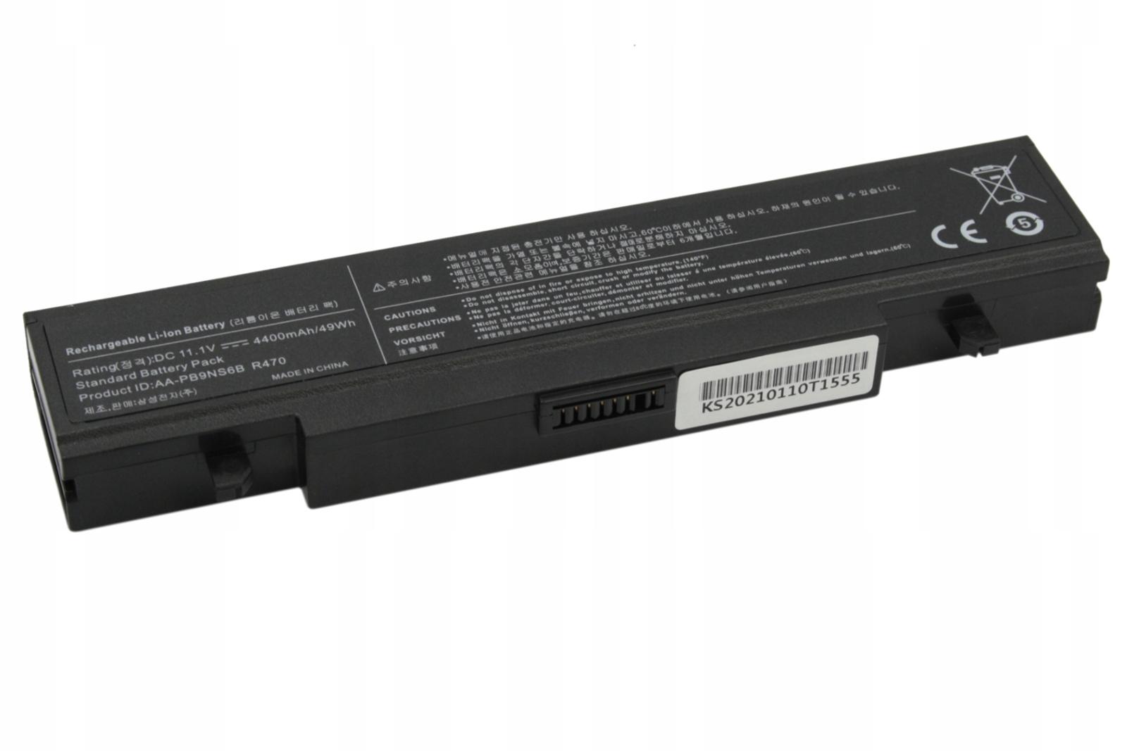 BATERIA AKUMULATOR SAMSUNG Q318 Q320 R519 R530 R540 R580 AA-PB9NC6B - Baterie do laptopów