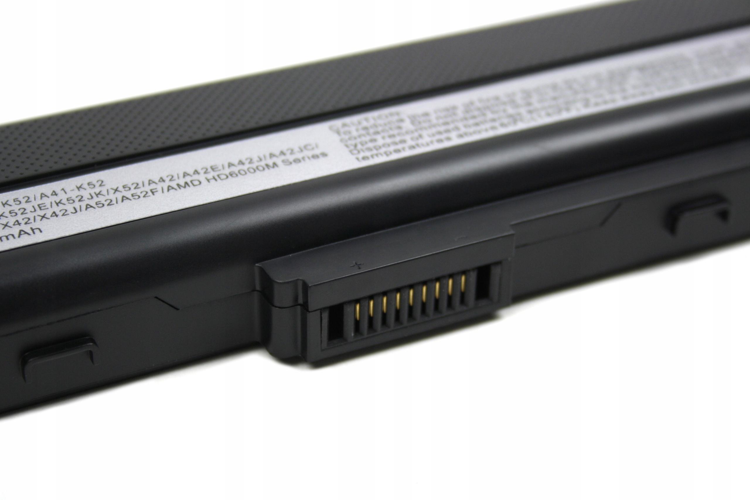 BATERIA AKUMULATOR ASUS A32-K52 A52F K52 K52F K52J K52JC X52J - Baterie do laptopów