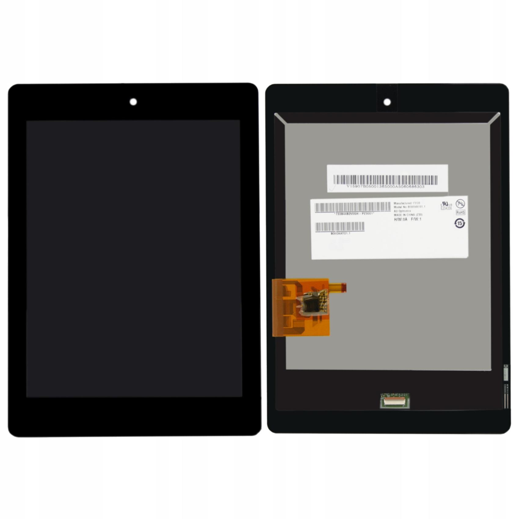 WYŚWIETLACZ Z DIGITIZEREM FULL SET ACER ICONIA A1-810 811 8110 - Wyświetlacze z digitizerami do tabletów