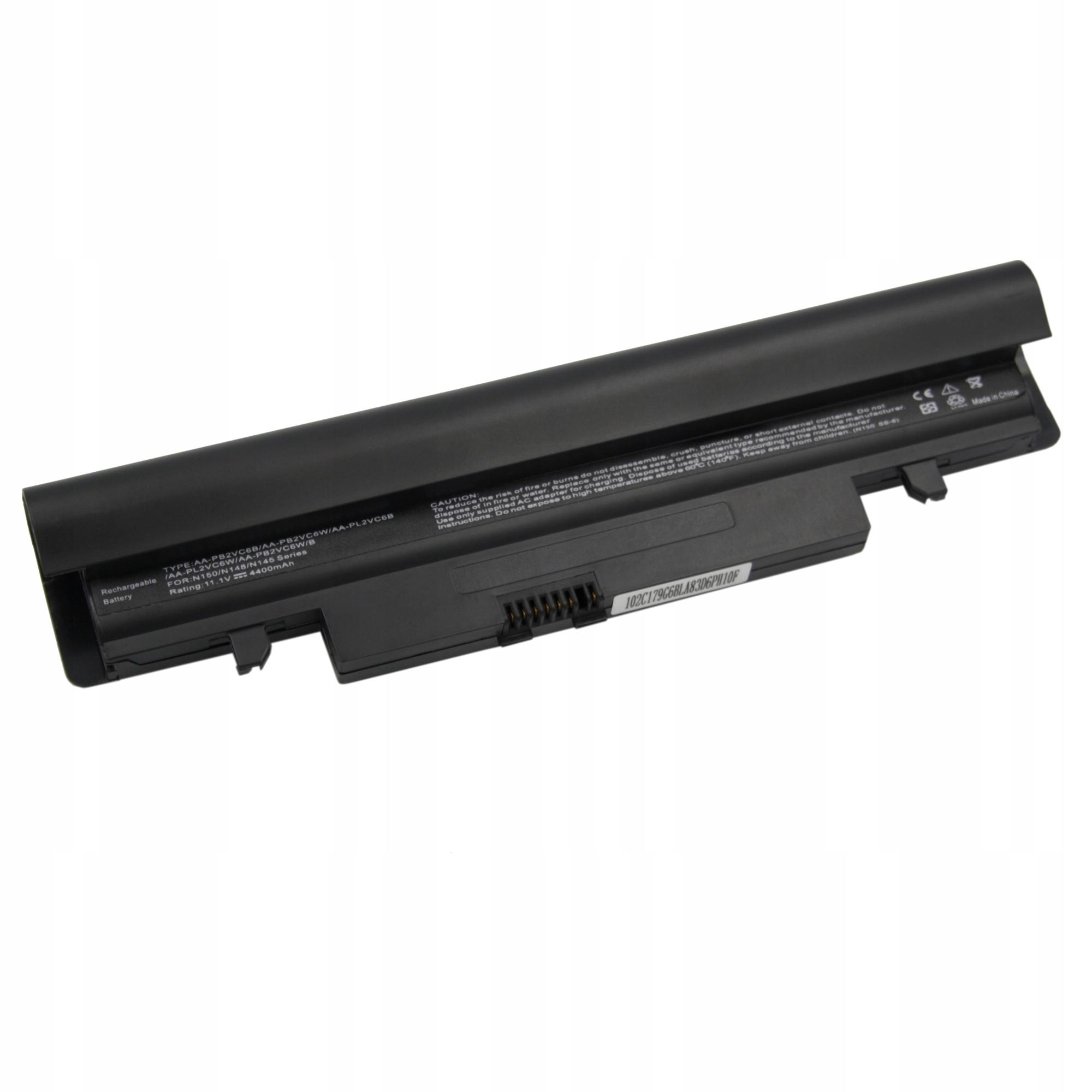 BATERIA AKUMULATOR SAMSUNG N145 N148 N150 N250 N260 N143 N350 - Baterie do laptopów