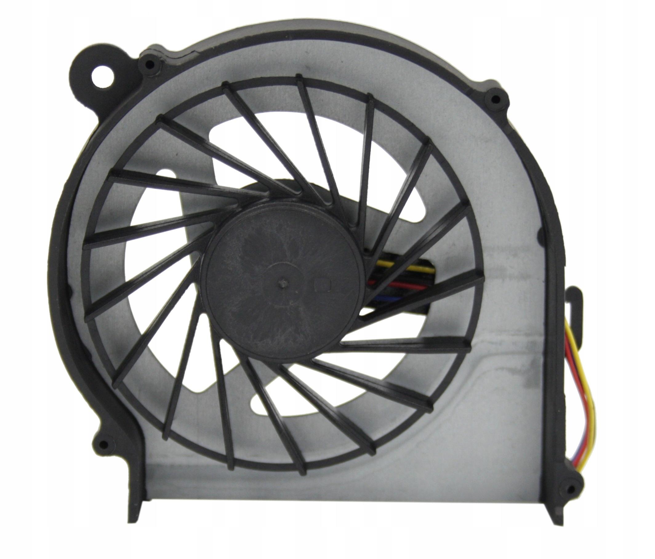 WENTYLATOR CHŁODZENIE WIATRAK HP COMPAQ CQ72 G72 - Wentylatory i radiatory