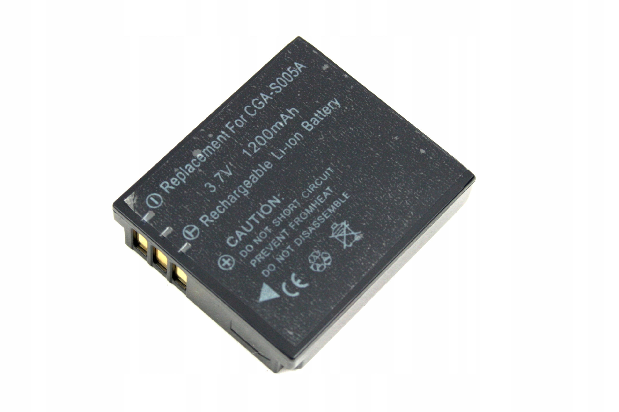 BATERIA AKUMULATOR PANASONIC CGA-S005E LUMIX DMC-FX12 FS1 - Baterie do aparatów cyfrowych