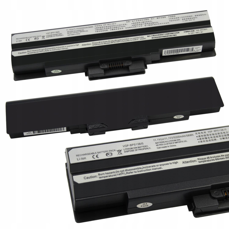 BATERIA AKUMULATOR SONY VAIO VGP-BPS13 VGP-BPS21A VGB-BPL13 - Baterie do laptopów