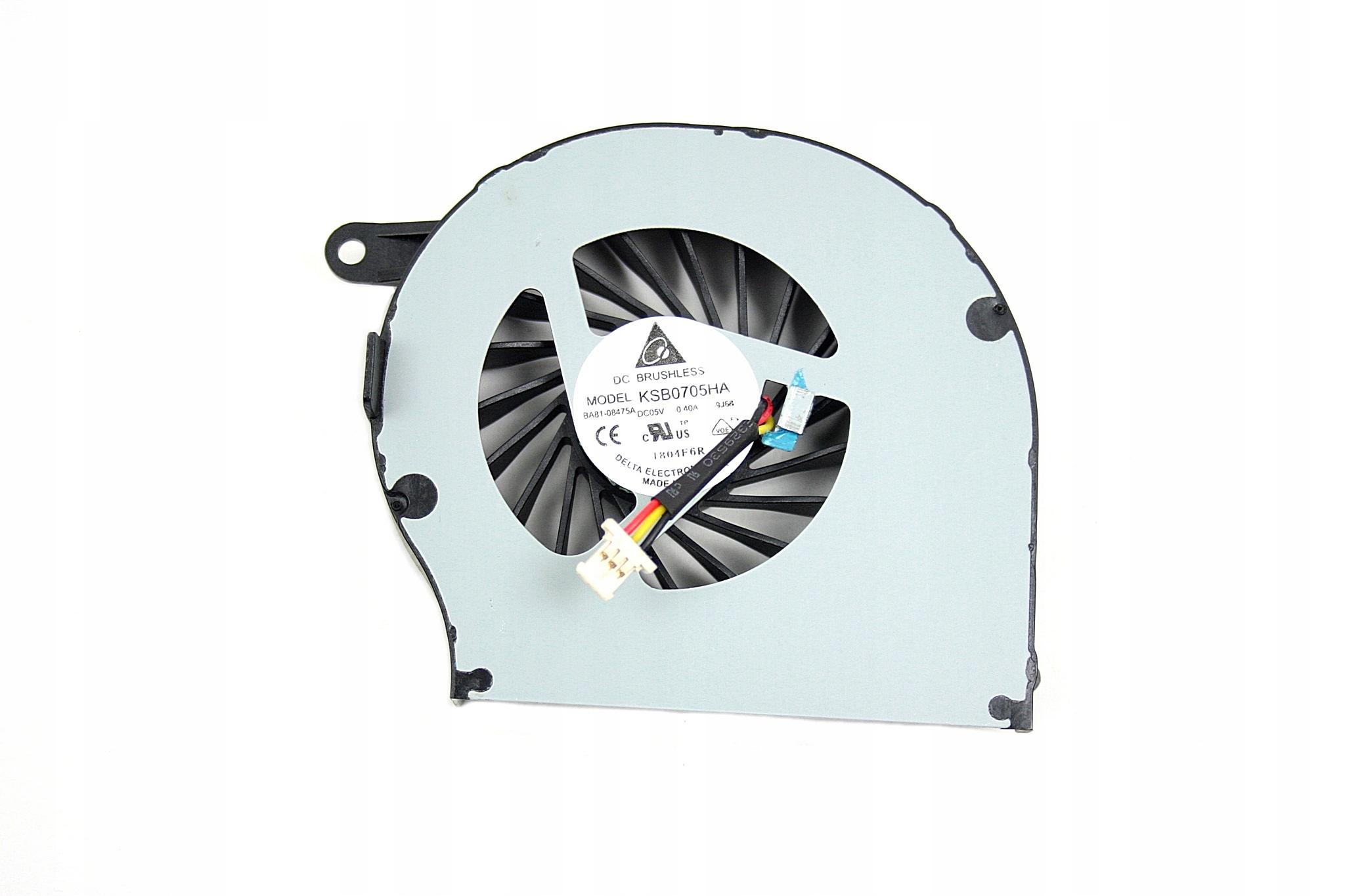 WENTYLATOR CHŁODZENIE WIATRAK HP COMPAQ G62 CQ62 G72 CQ72 - Wentylatory i radiatory