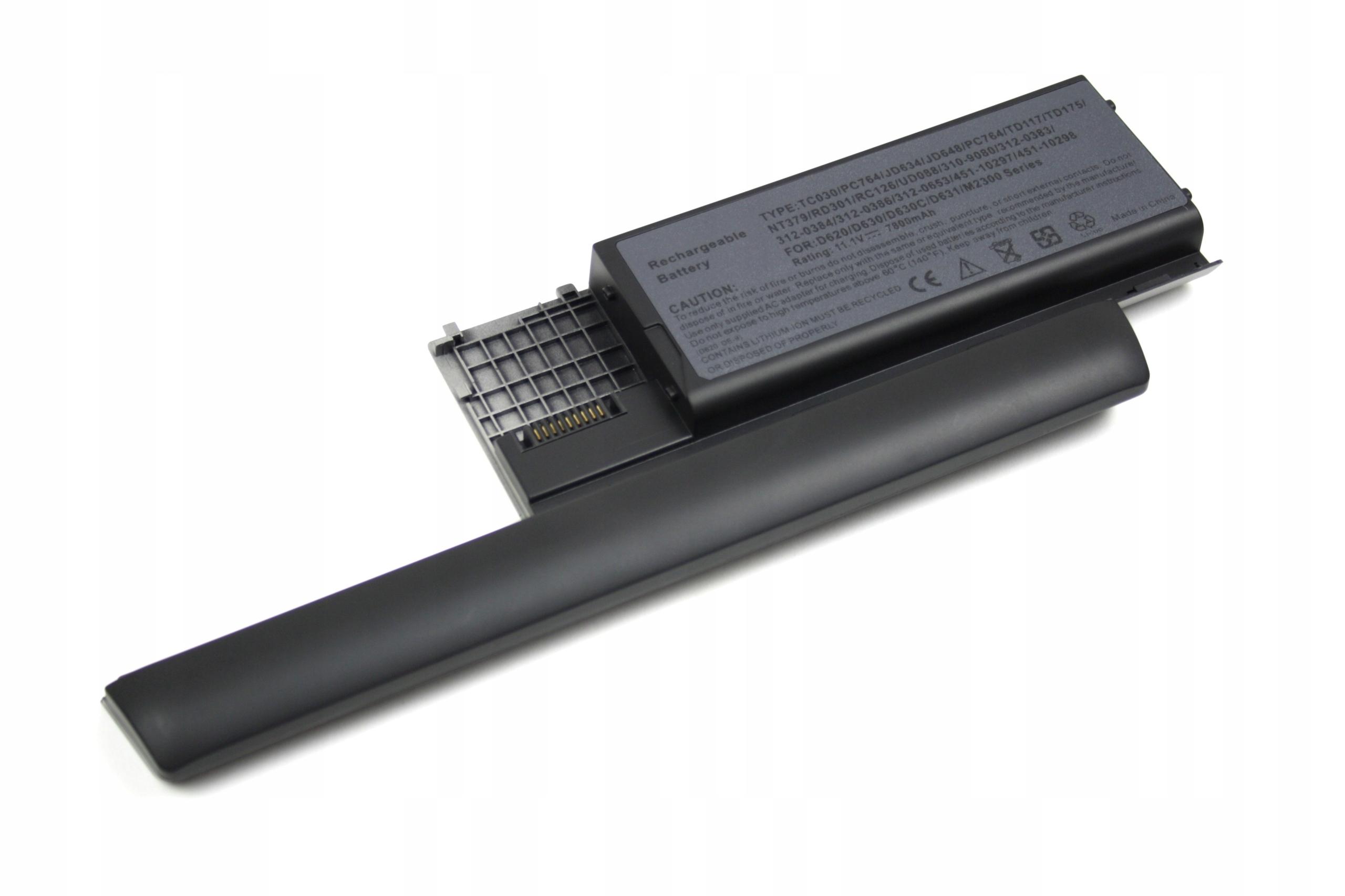 BATERIA AKUMULATOR DELL LATITUDE D620 D630 D631 PC764 - Baterie do laptopów
