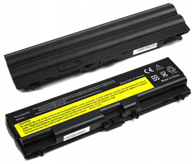 BATERIA AKUMULATOR LENOVO THINKPAD T410 T420 T510 T520 W510 - Baterie do laptopów