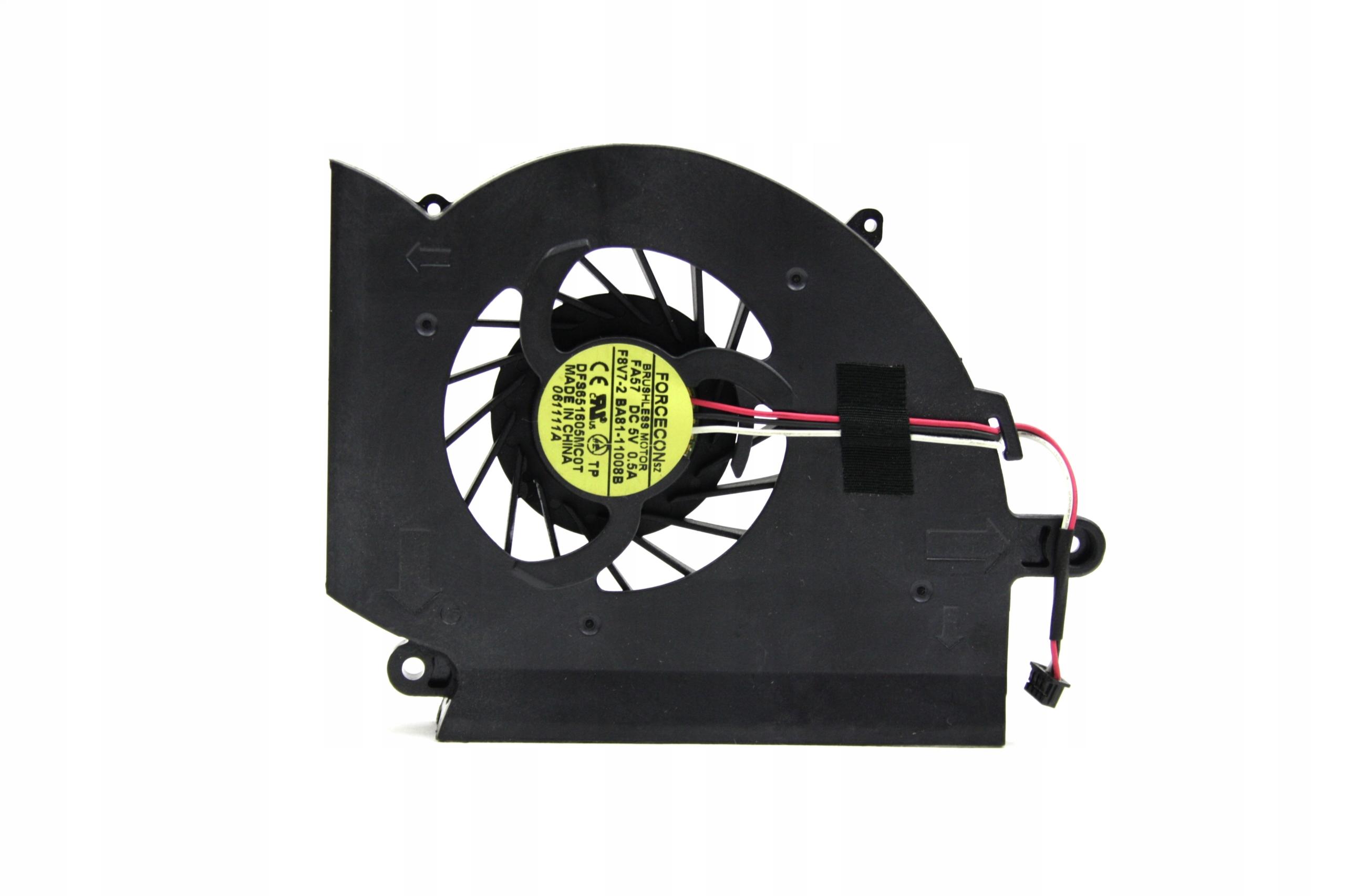 WENTYLATOR CHŁODZENIE WIATRAK SAMSUNG RF511 RF510 RF411 RF410 - Wentylatory i radiatory