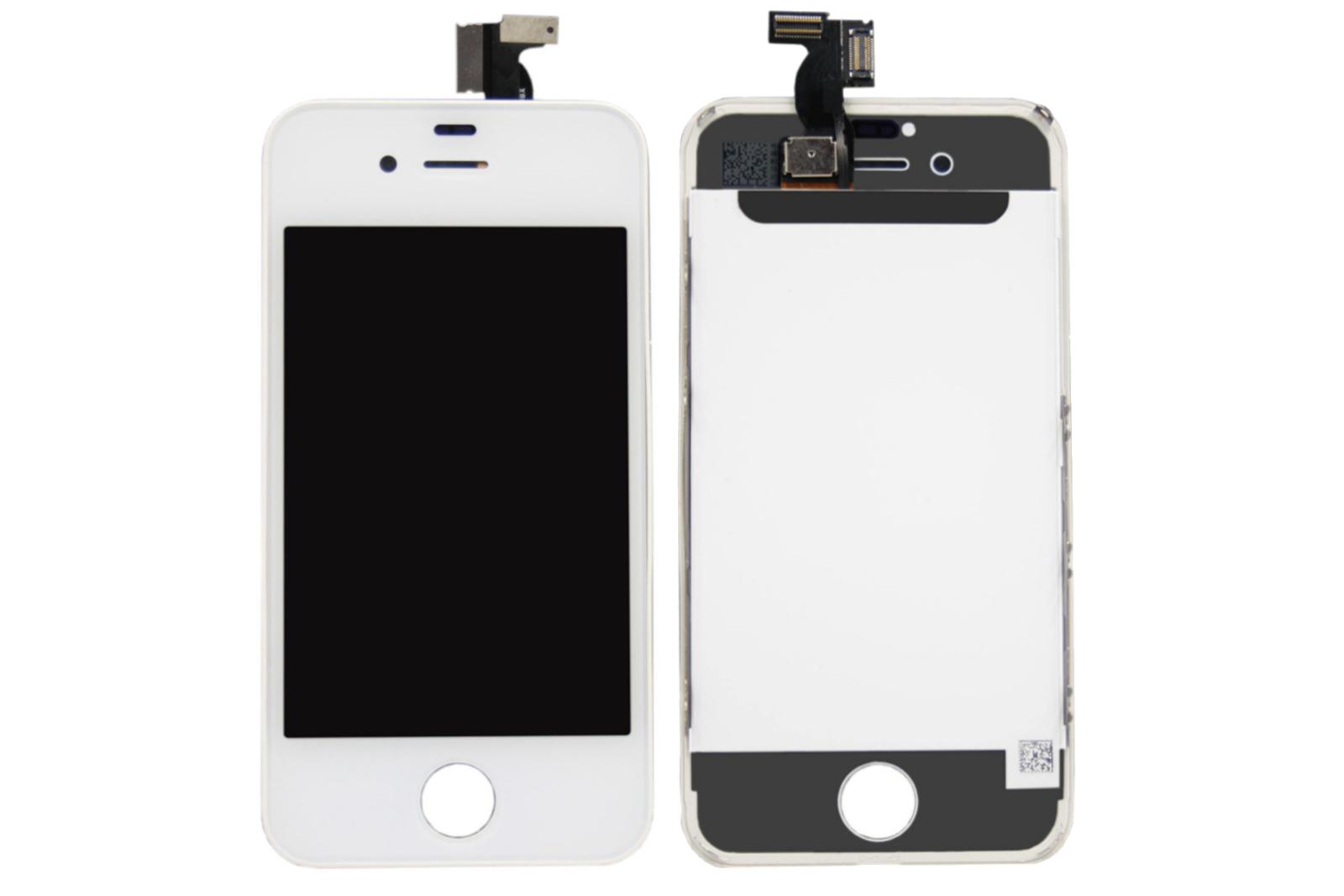 WYŚWIETLACZ Z DIGITIZEREM IPHONE 4S A1431 A1387 BIAŁY FULL SET - Wyświetlacze z digitizerami do telefonów