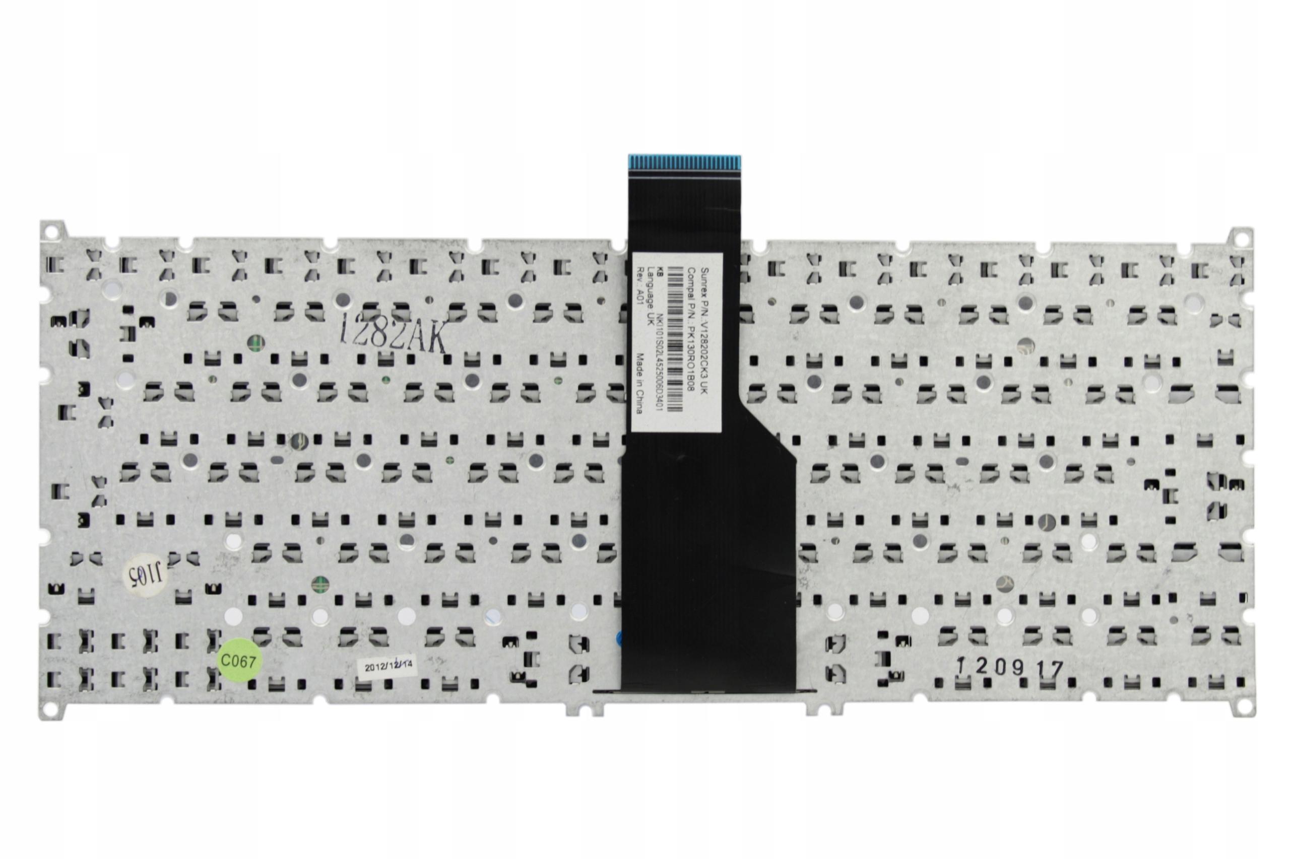 KLAWIATURA ACER ASPIRE V5-121 V5-123 V5-131 V5-171 - Klawiatury do laptopów