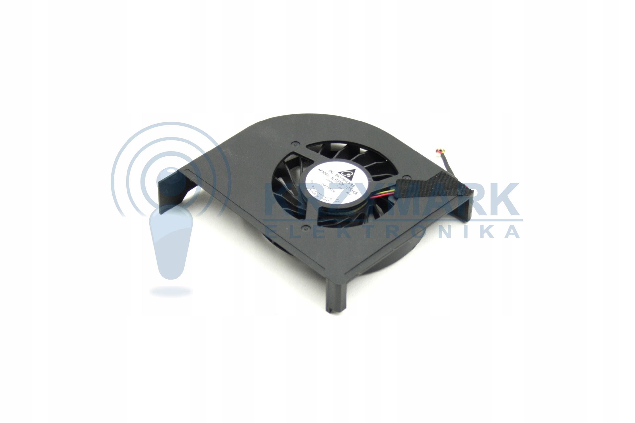 WENTYLATOR CHŁODZENIE WIATRAK HP PAVILION KSB06105HA-9E40 - Wentylatory i radiatory