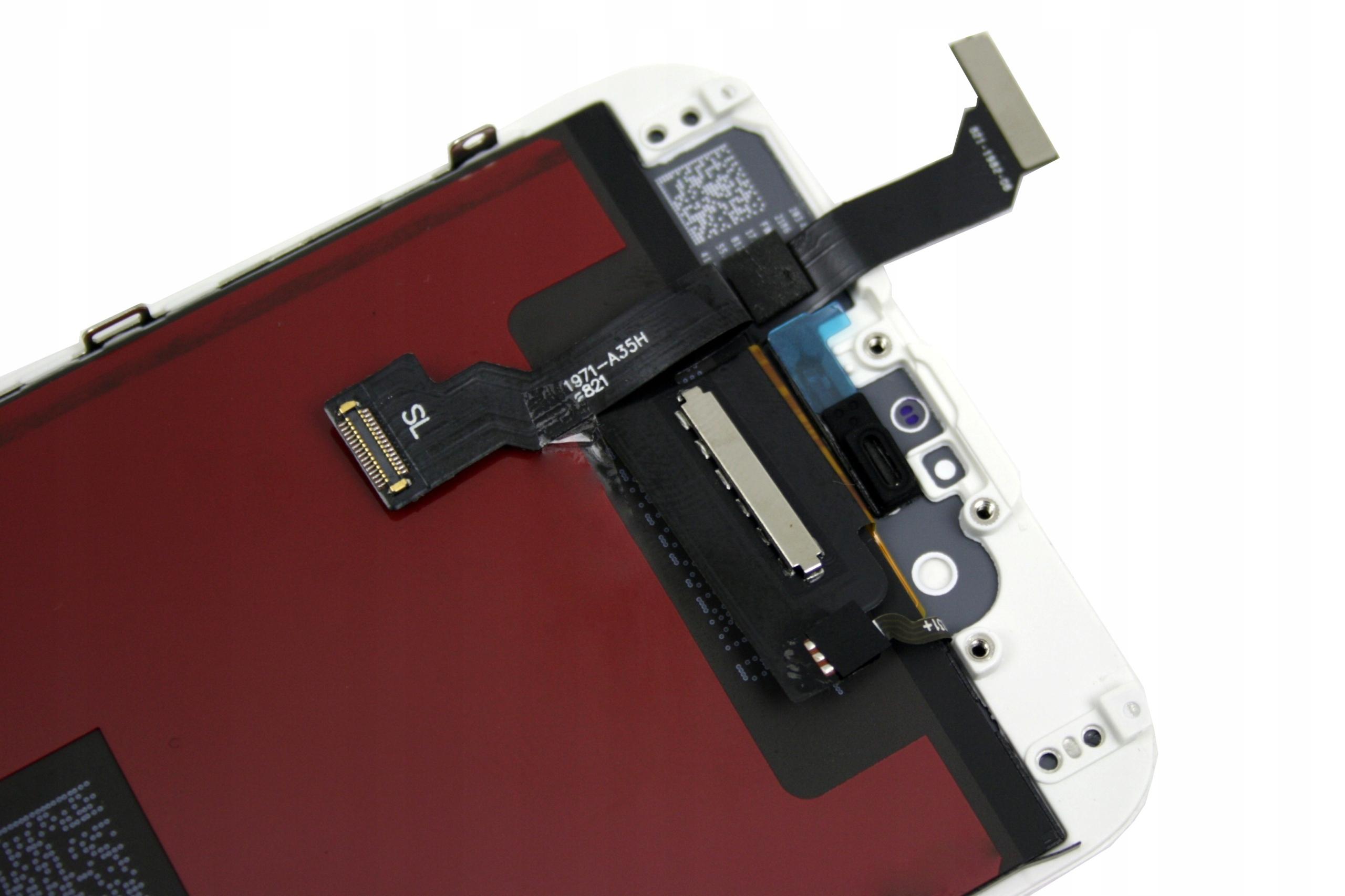 WYŚWIETLACZ Z DIGITIZEREM FULL SET KORPUS RAMKA OBUDOWA APPLE IPHONE 6 - Wyświetlacze z digitizerami do telefonów