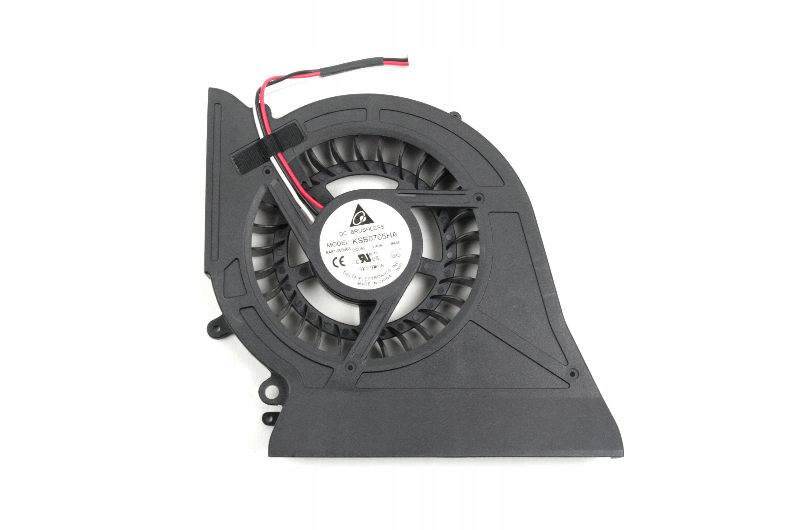 WENTYLATOR CHŁODZENIE WIATRAK SAMSUNG R718 R720 KSB0705HA BA81-06936A - Wentylatory i radiatory