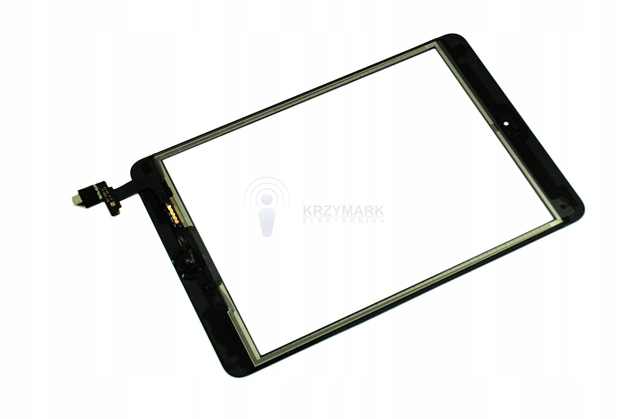 DIGITIZER EKRAN APPLE IPAD MINI 2 A1489 A1490 A1491 CZARNY - Digitizery do tabletów
