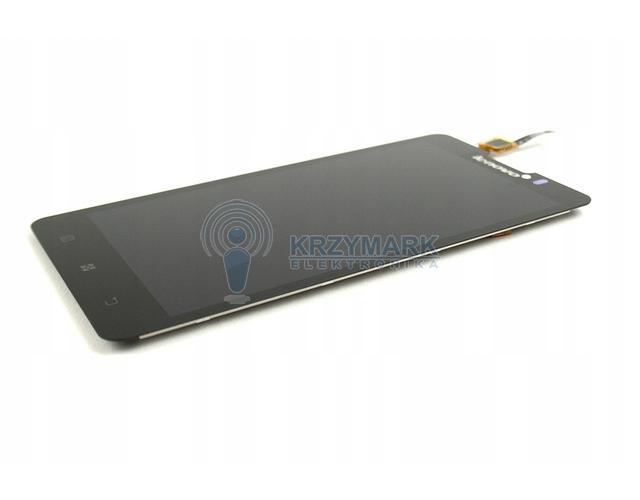 WYŚWIETLACZ Z DIGITIZEREM FULL SET LENOVO P780 - Wyświetlacze z digitizerami do telefonów