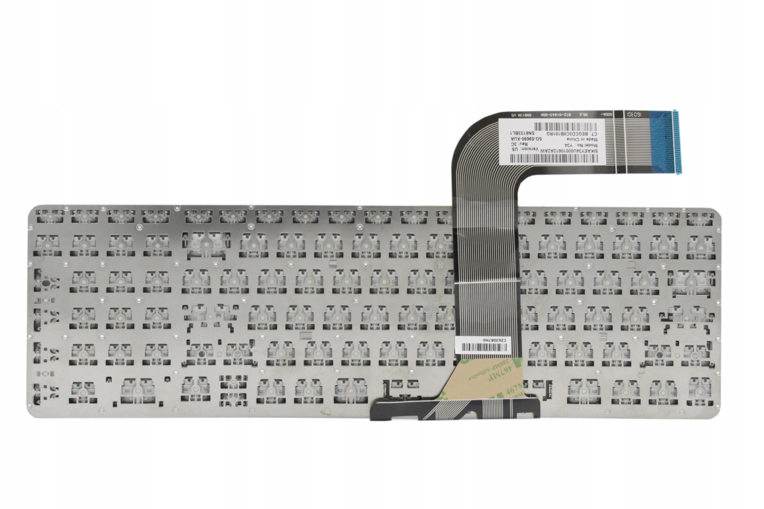 KLAWIATURA HP PAVILION 15-P 15-P080 17-F - Klawiatury do laptopów