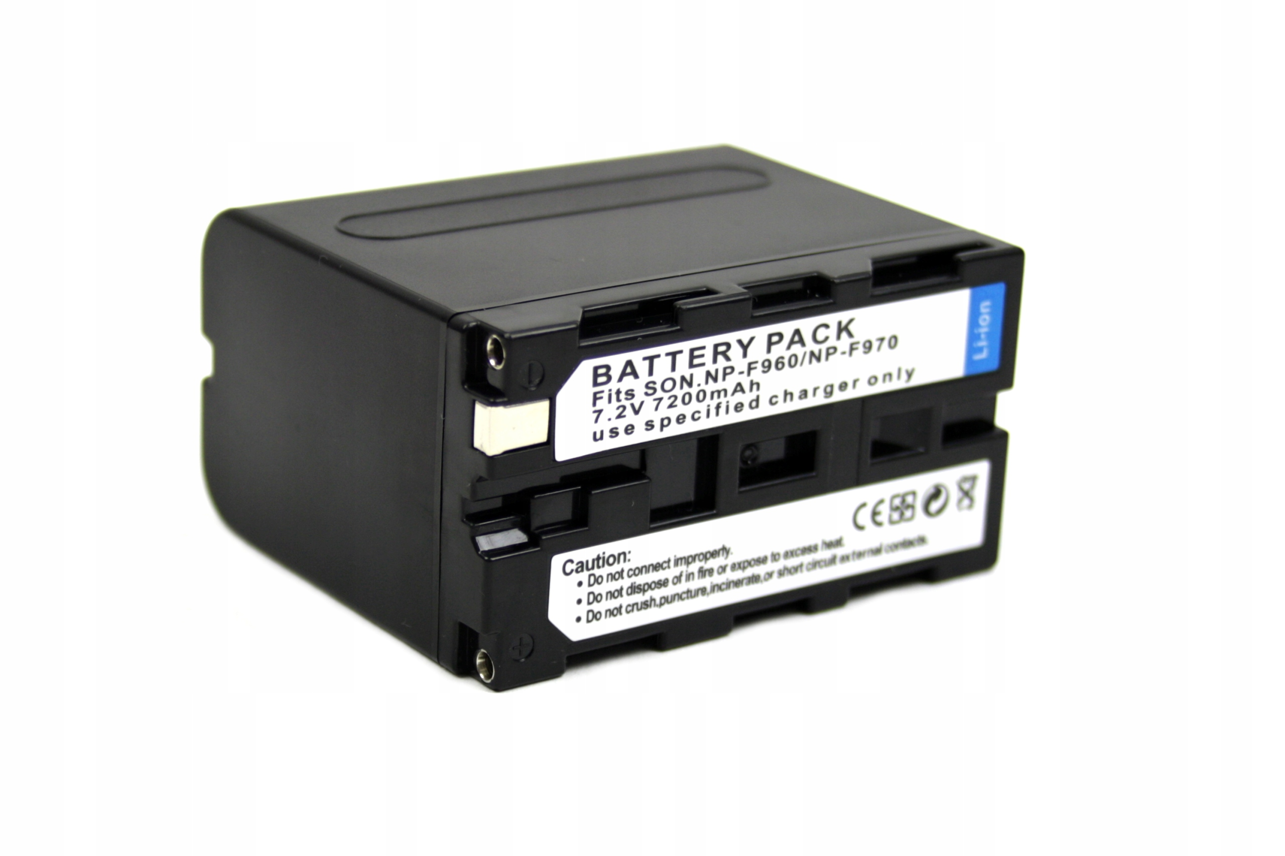 BATERIA SONY NP-F970 NP-F960 NP-F550 NP-F750 NP-F530 AKUMULATOR 7200 MAH - Baterie do aparatów cyfrowych