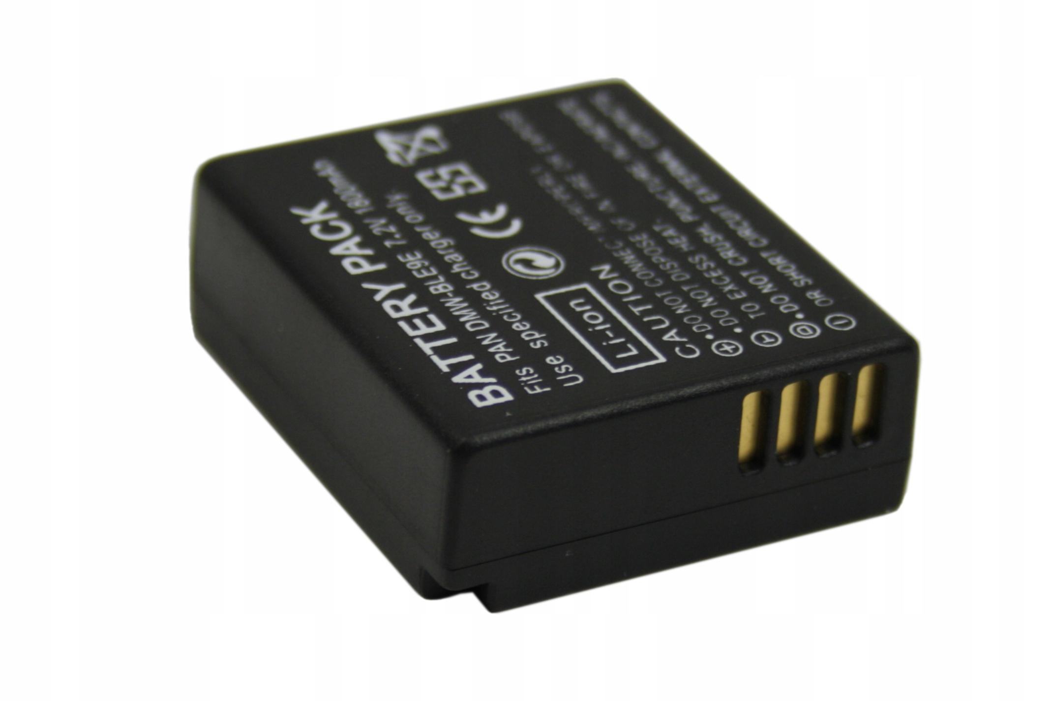 BATERIA AKUMULATOR PANASONIC DMW-BLG10 DMWBLG10 DMW BLG10E - Baterie do aparatów cyfrowych