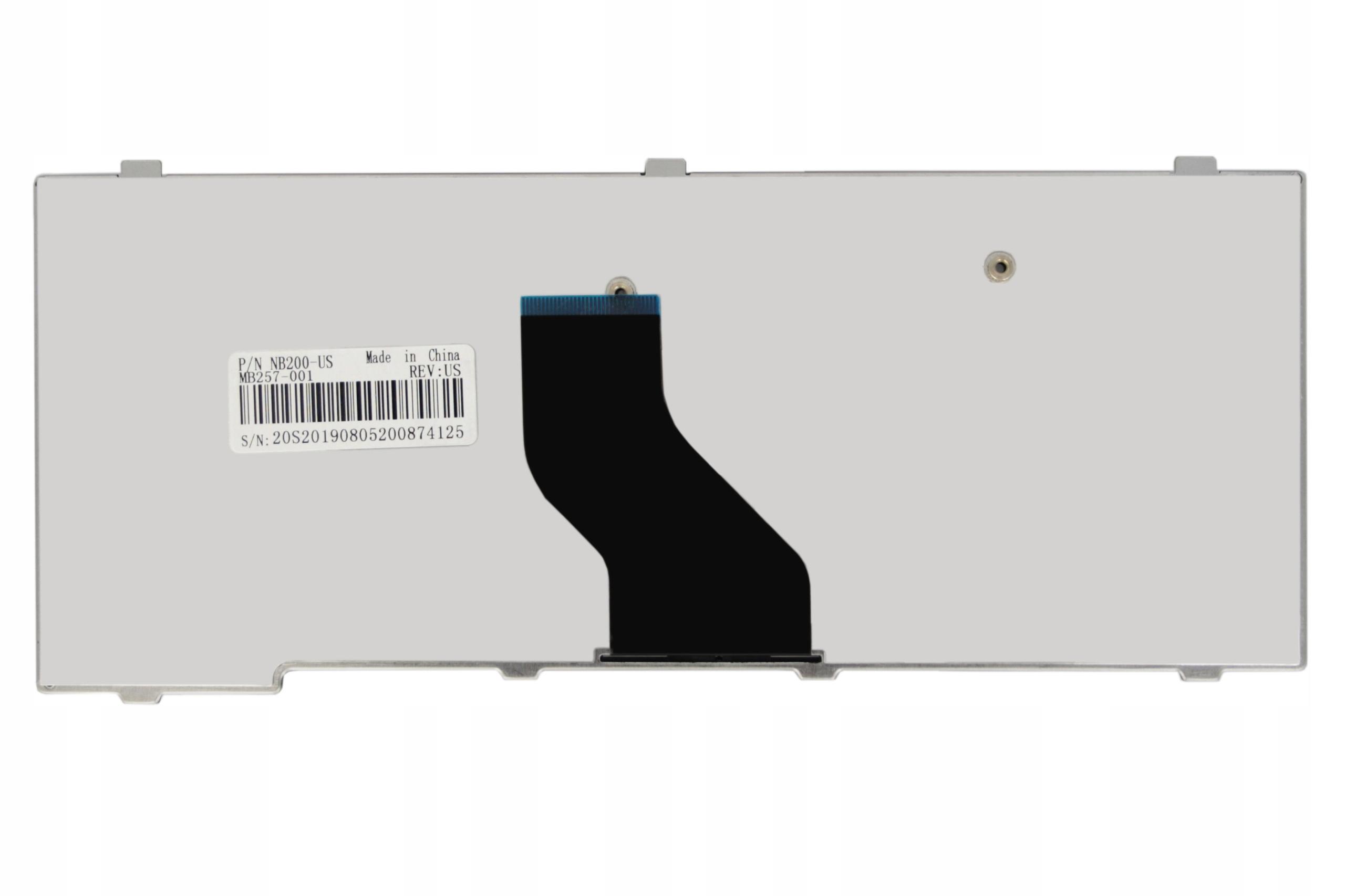 KLAWIATURA TOSHIBA NB250 NB550D NB200 NB305 - Klawiatury do laptopów