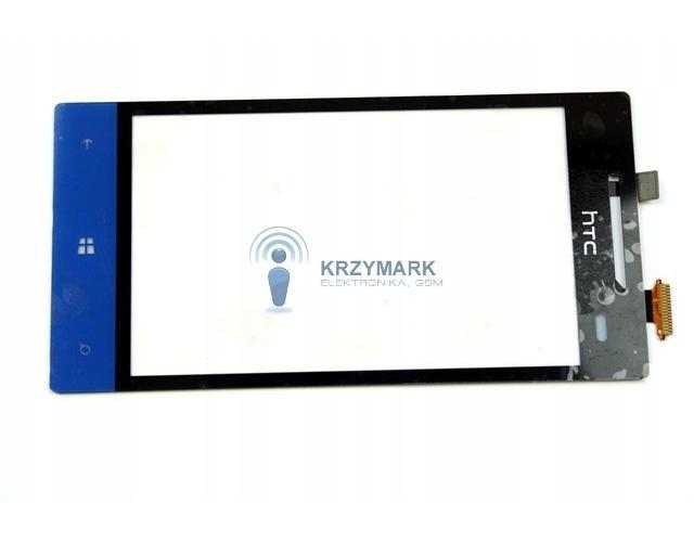 DIGITIZER DO TELEFONU HTC 8S A620E NIEBIESKI - Digitizery do telefonów