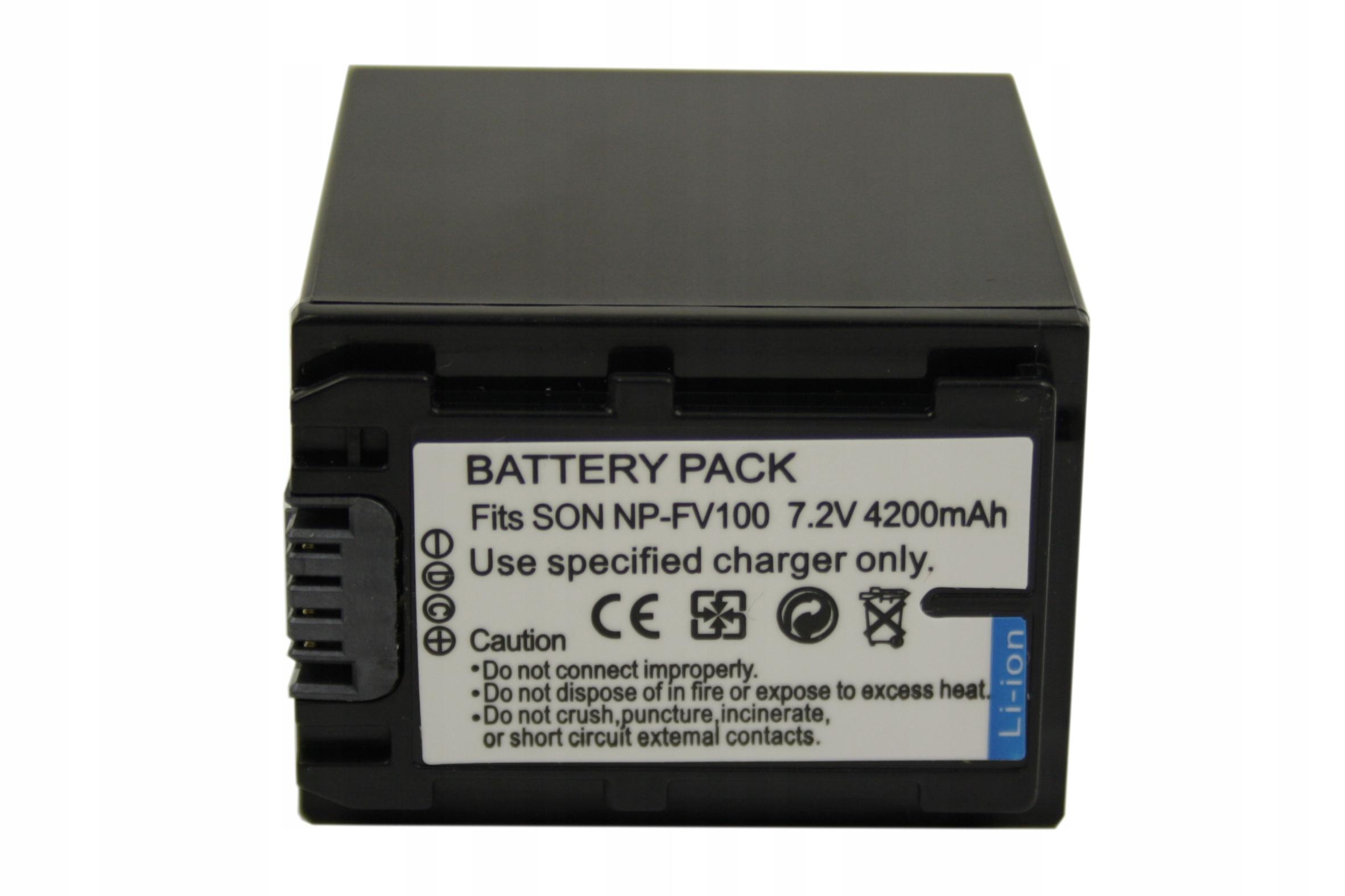 Bateria Sony NP FV50 NP FV30 NP FV70 3800mAh Sprawdź