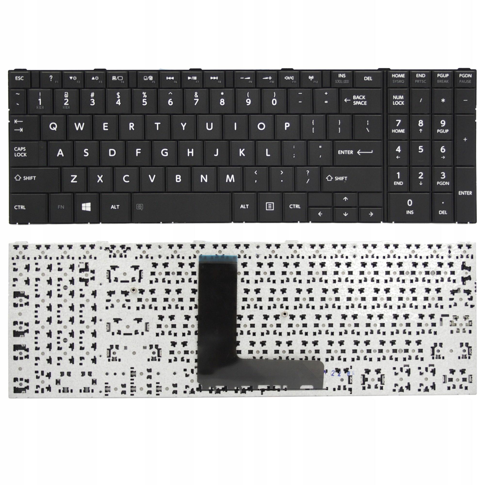 KLAWIATURA TOSHIBA C50-B-14D C50-B-14E C50-B-10P - Klawiatury do laptopów