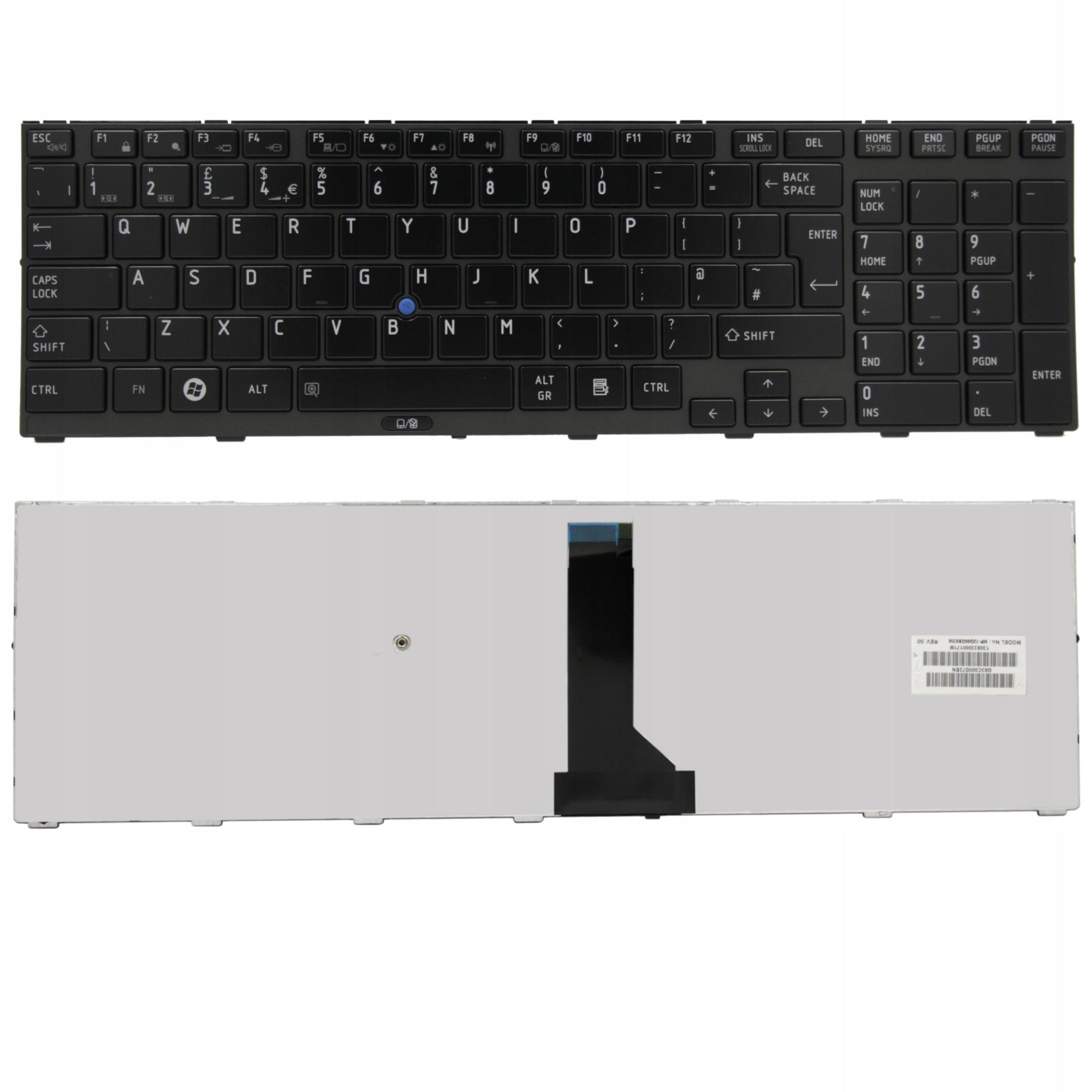 KLAWIATURA TOSHIBA TECRA R850-S8530 R850-12R - Klawiatury do laptopów