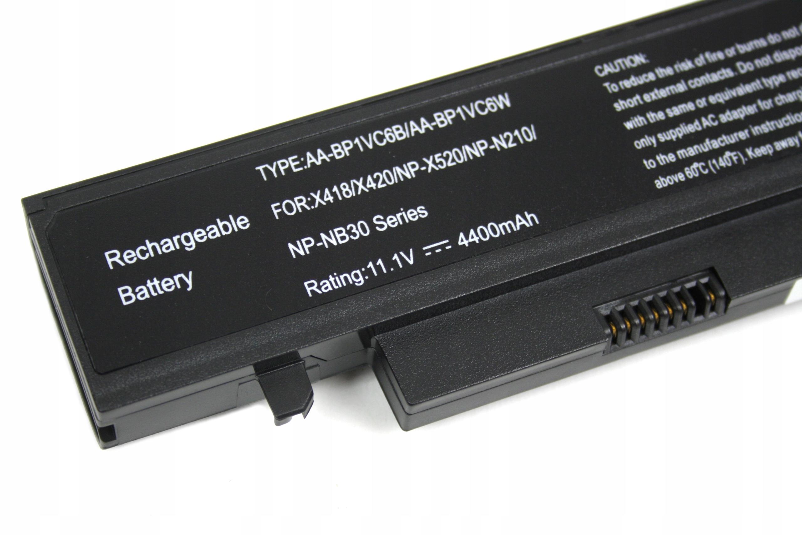 BATERIA AKUMULATOR SAMSUNG NP-N210 Q328 Q330 X418 X420 X520 - Baterie do laptopów